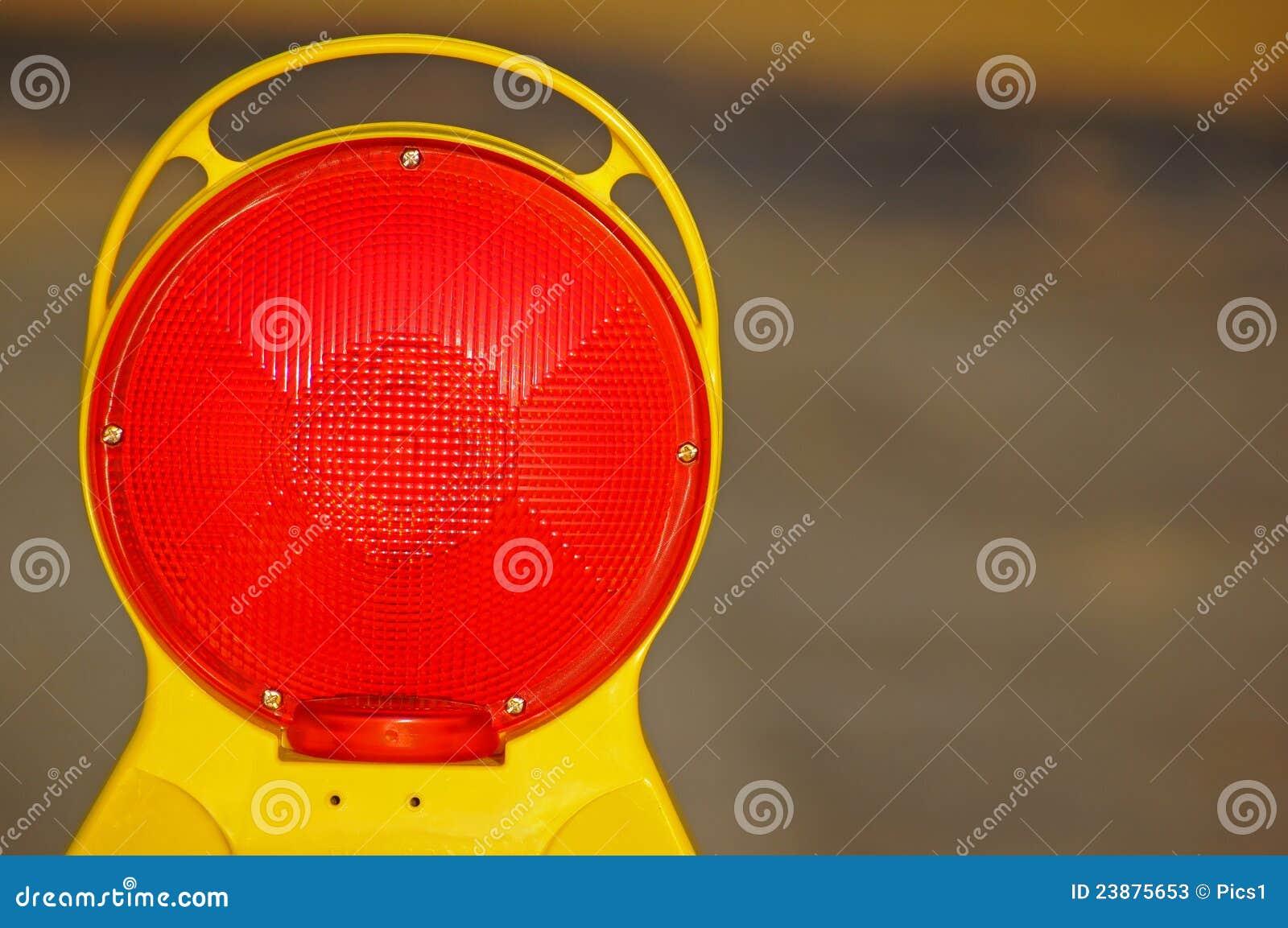 Construction site lamp