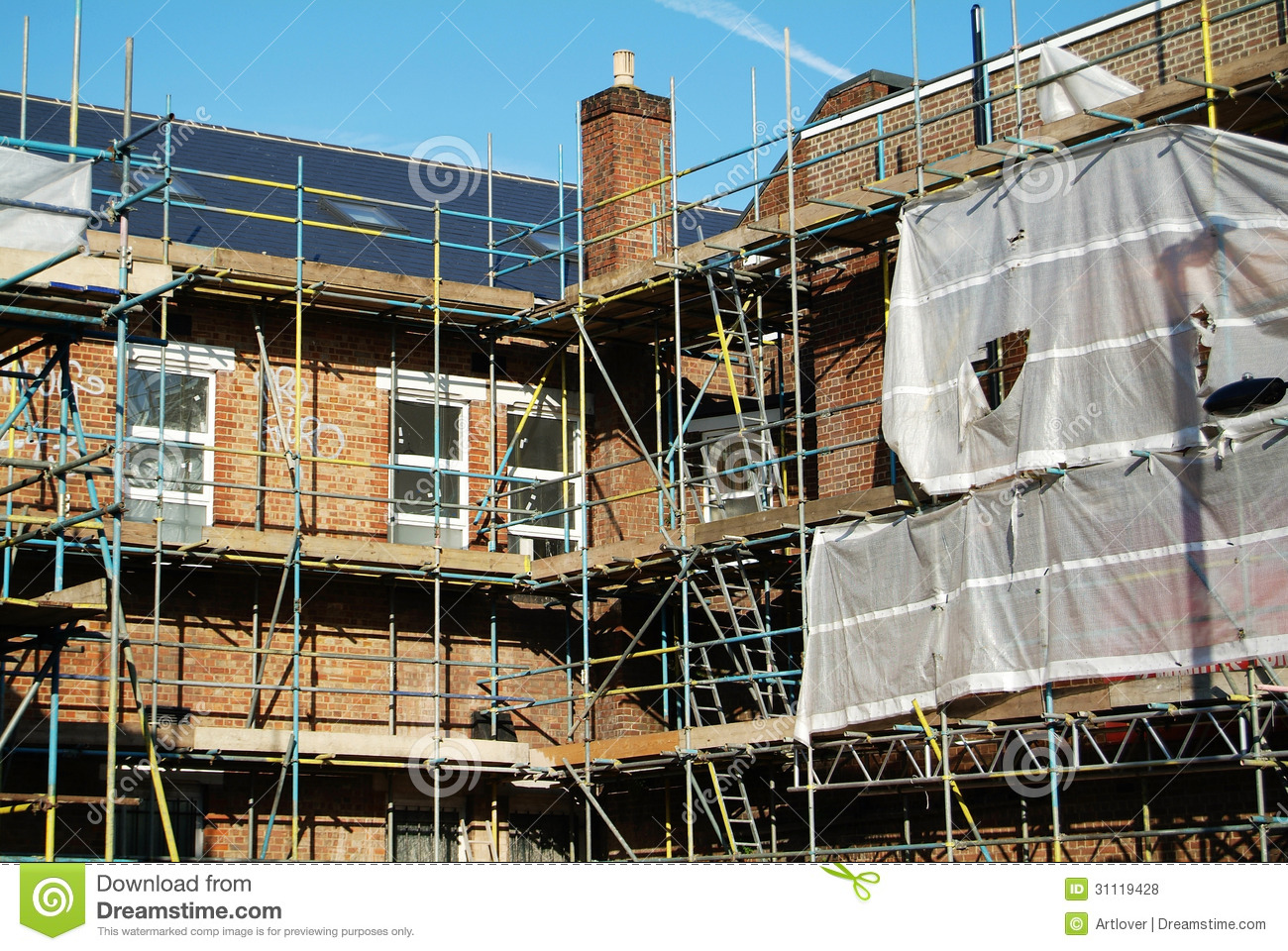 Construction site royalty free stock photos image 31119428 for Images of building sites