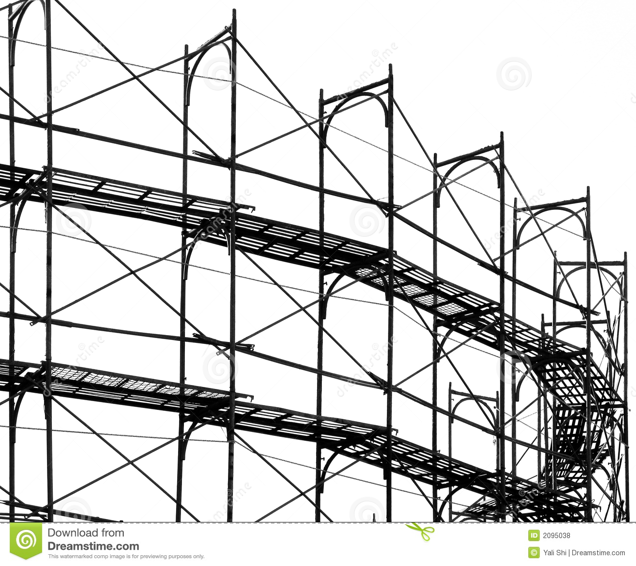 ... Site Scaffolding Royalty Free Stock Photos - Image: 2095038: dreamstime.com/royalty-free-stock-photos-construction-site...