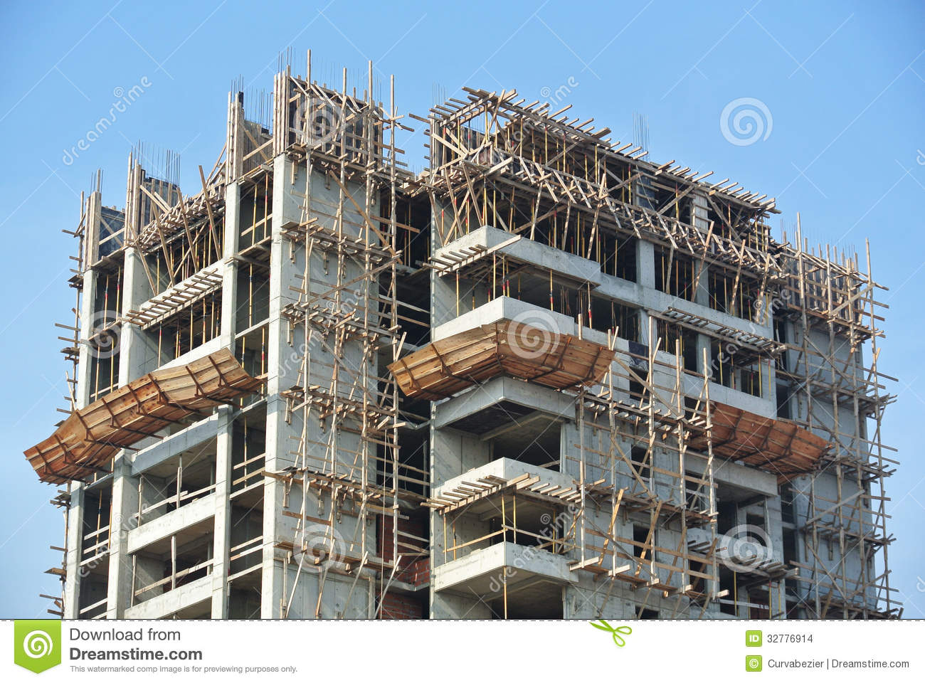 Building Construction Site : Construction site work in progress stock images image
