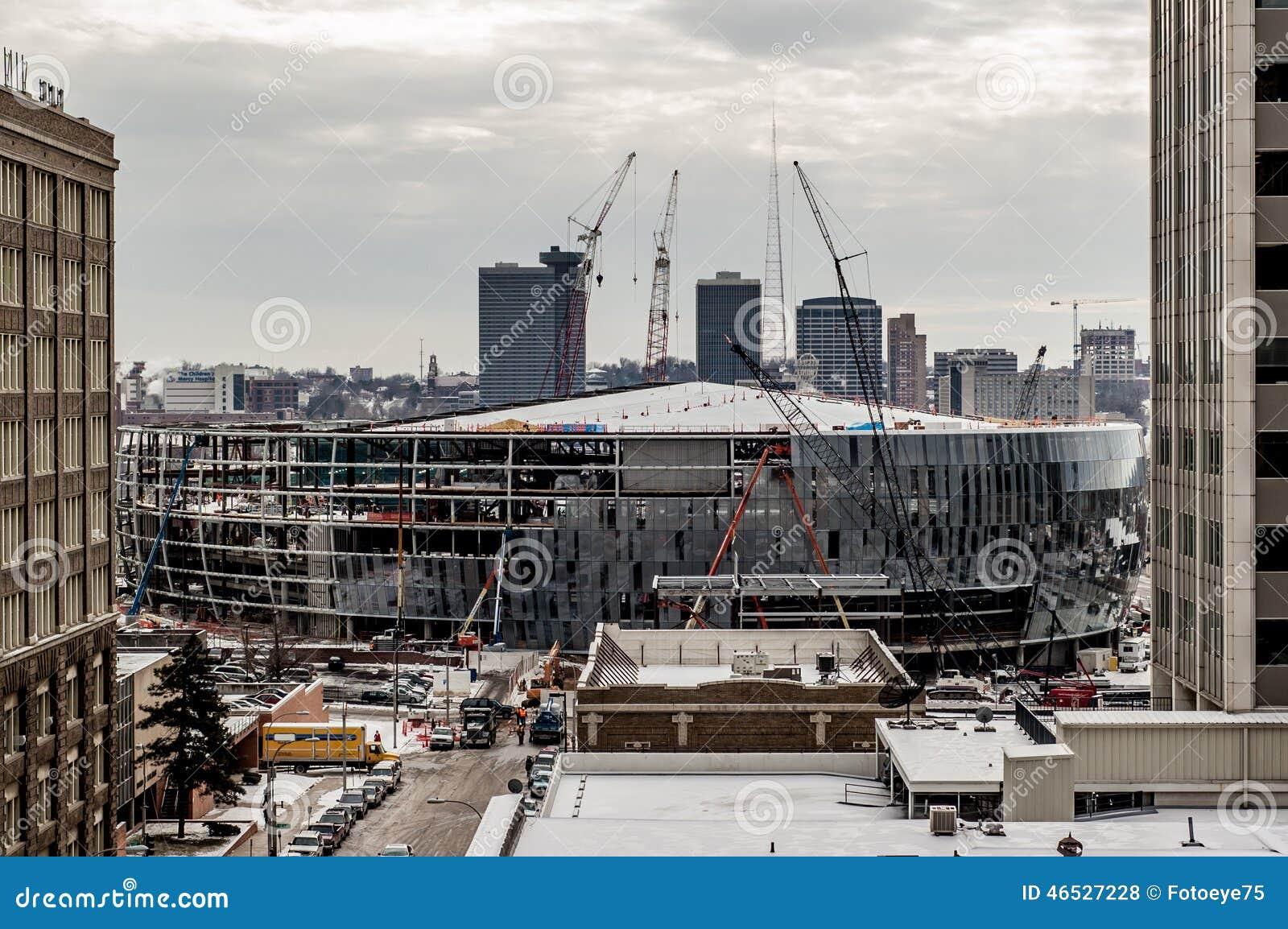 Facility Construction Missouri : Construction of sprint amphitheater in downtown kc kansas