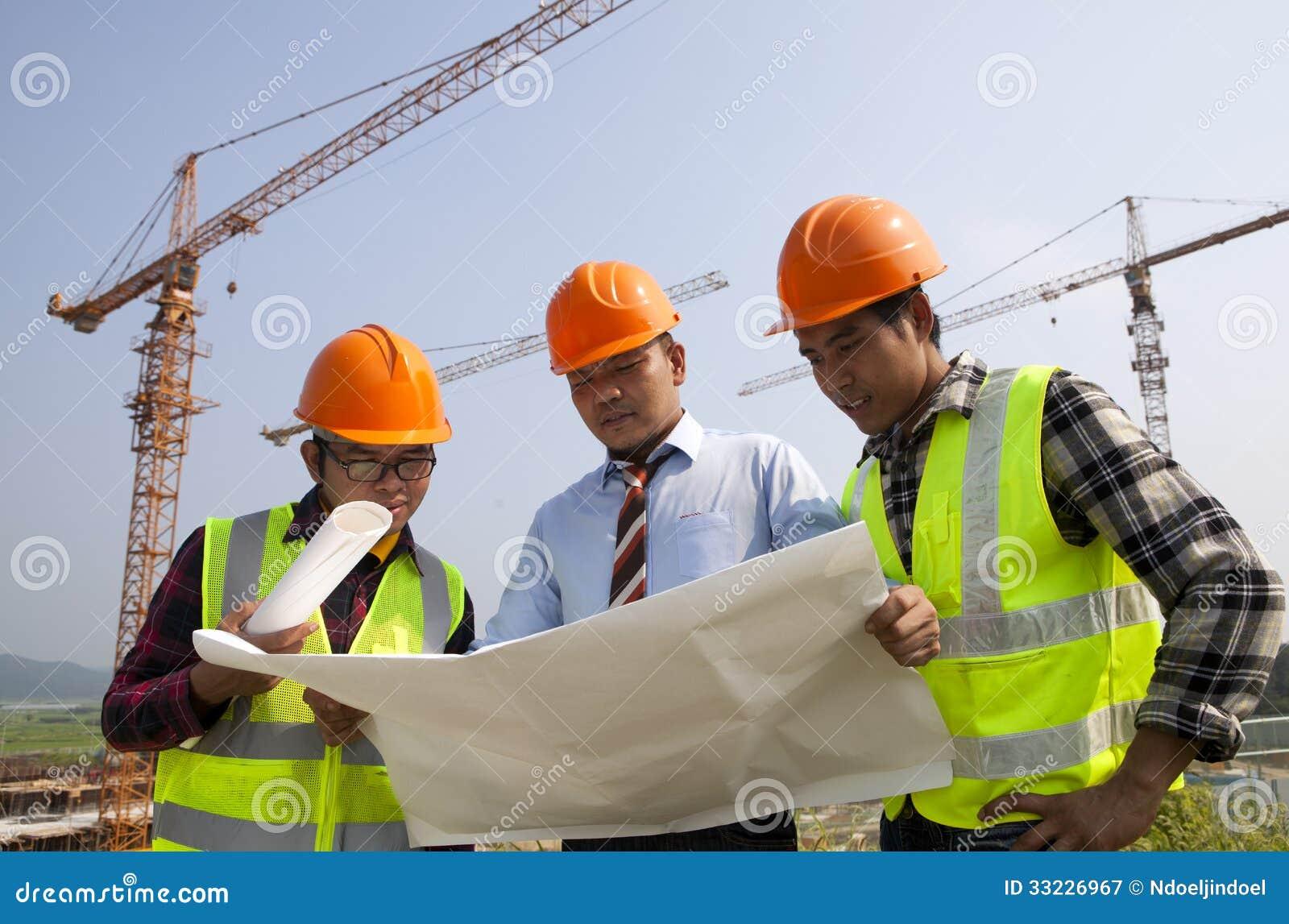 construction teamwork royalty free stock photography image 33226967. Black Bedroom Furniture Sets. Home Design Ideas