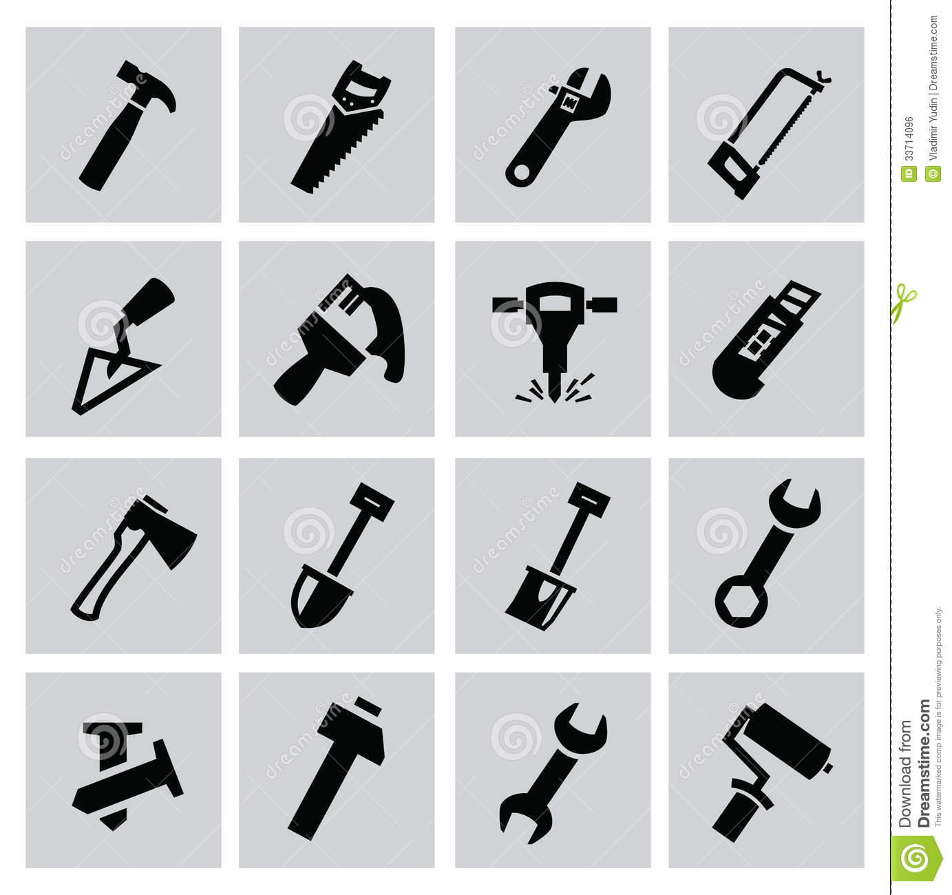 Construction Tools Royalty Free Stock Image - Image: 33714096