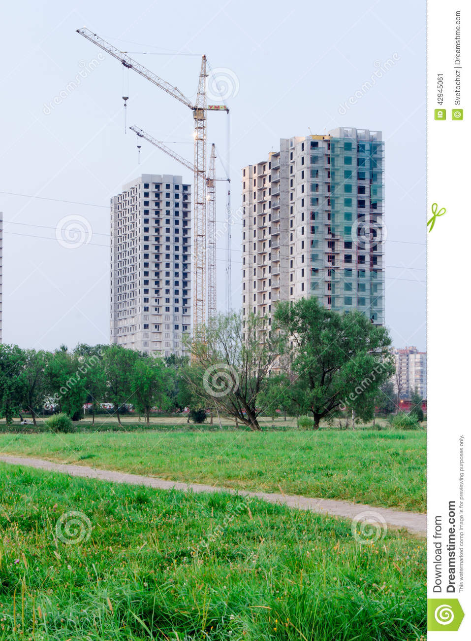 Download construction stock image image of complex architecture 42945061