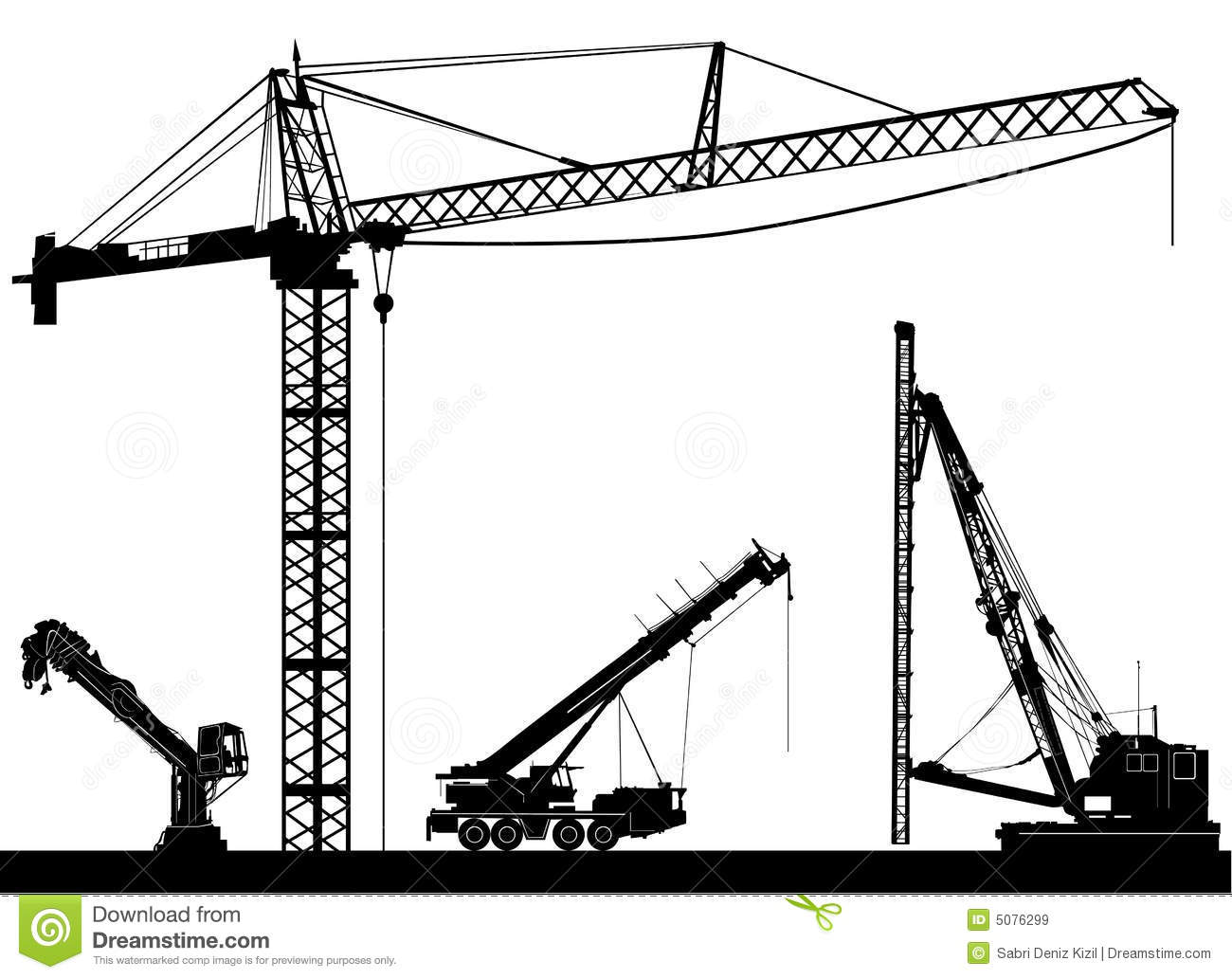 Construction vector stock vector. Image of growth, high ...