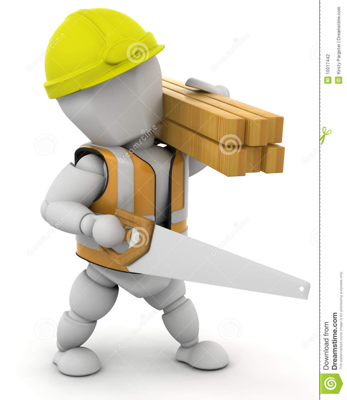 Construction Worker Stock Photography Image 10017442