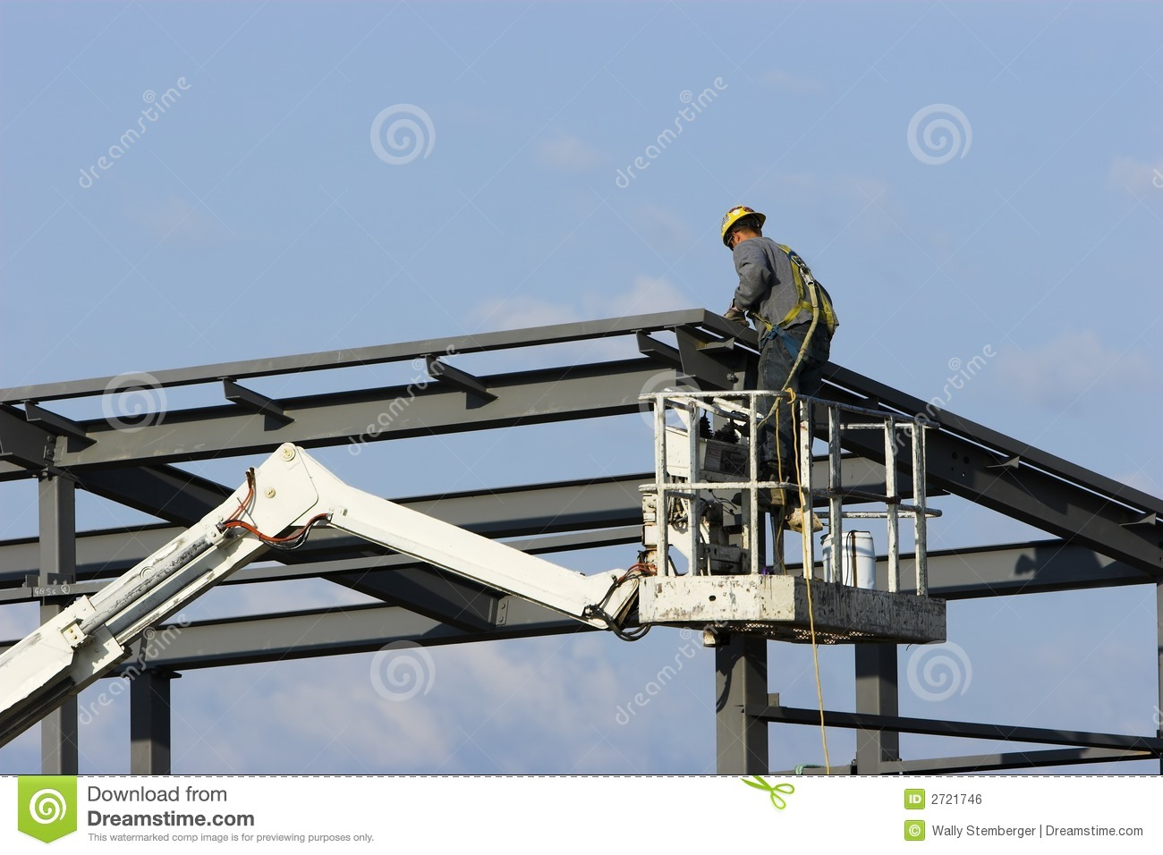 Download Construction worker stock photo. Image of site, steel - 2721746