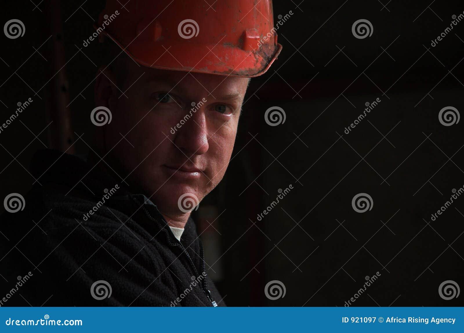 Construction worker foreman portrait