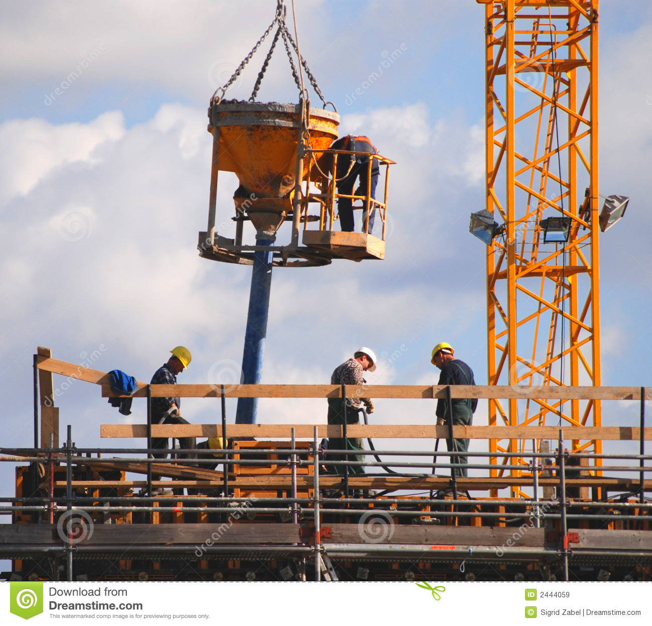 Construction Workers Royalty Free Stock Images Image
