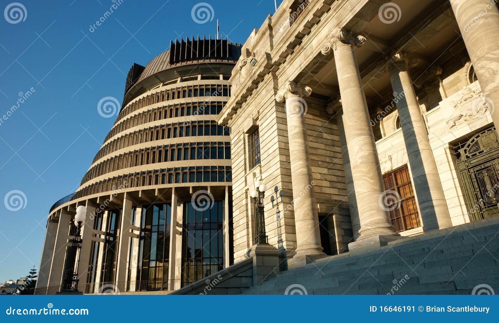 Constructions du Parlement, Nouvelle Zélande.