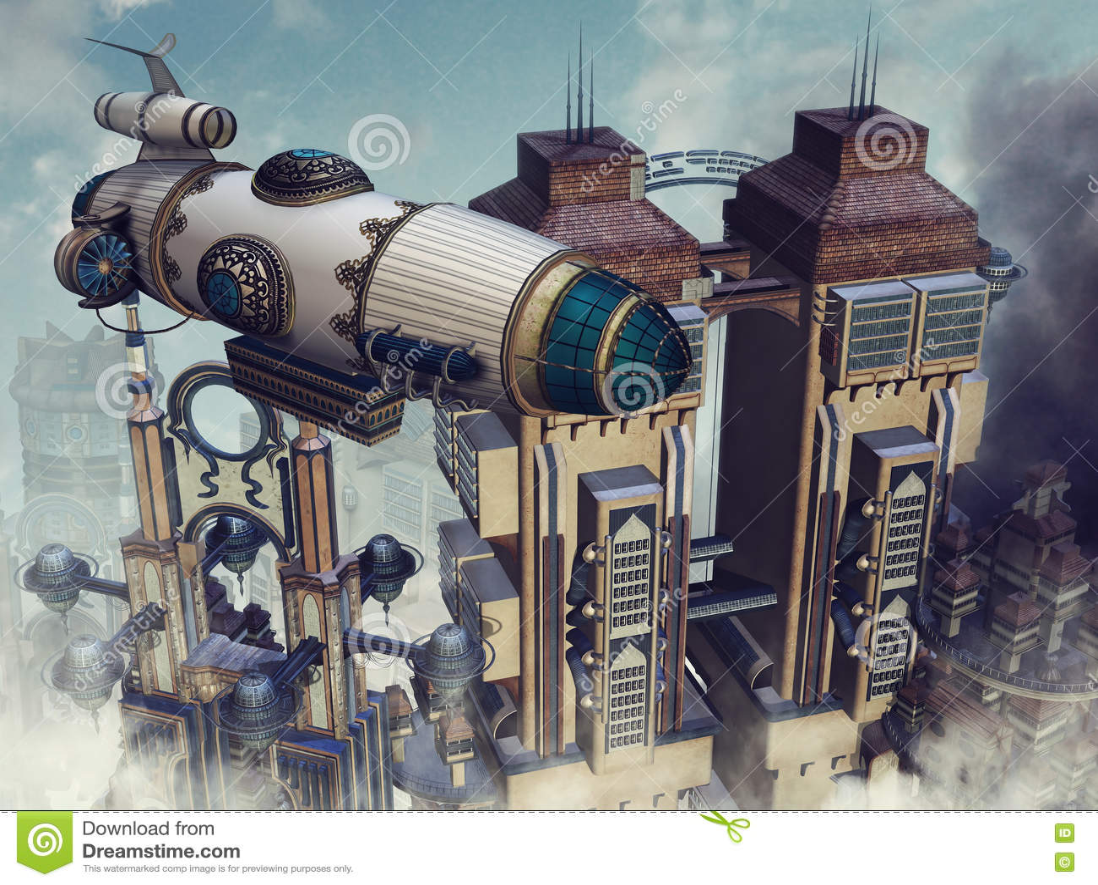Constructions futuristes