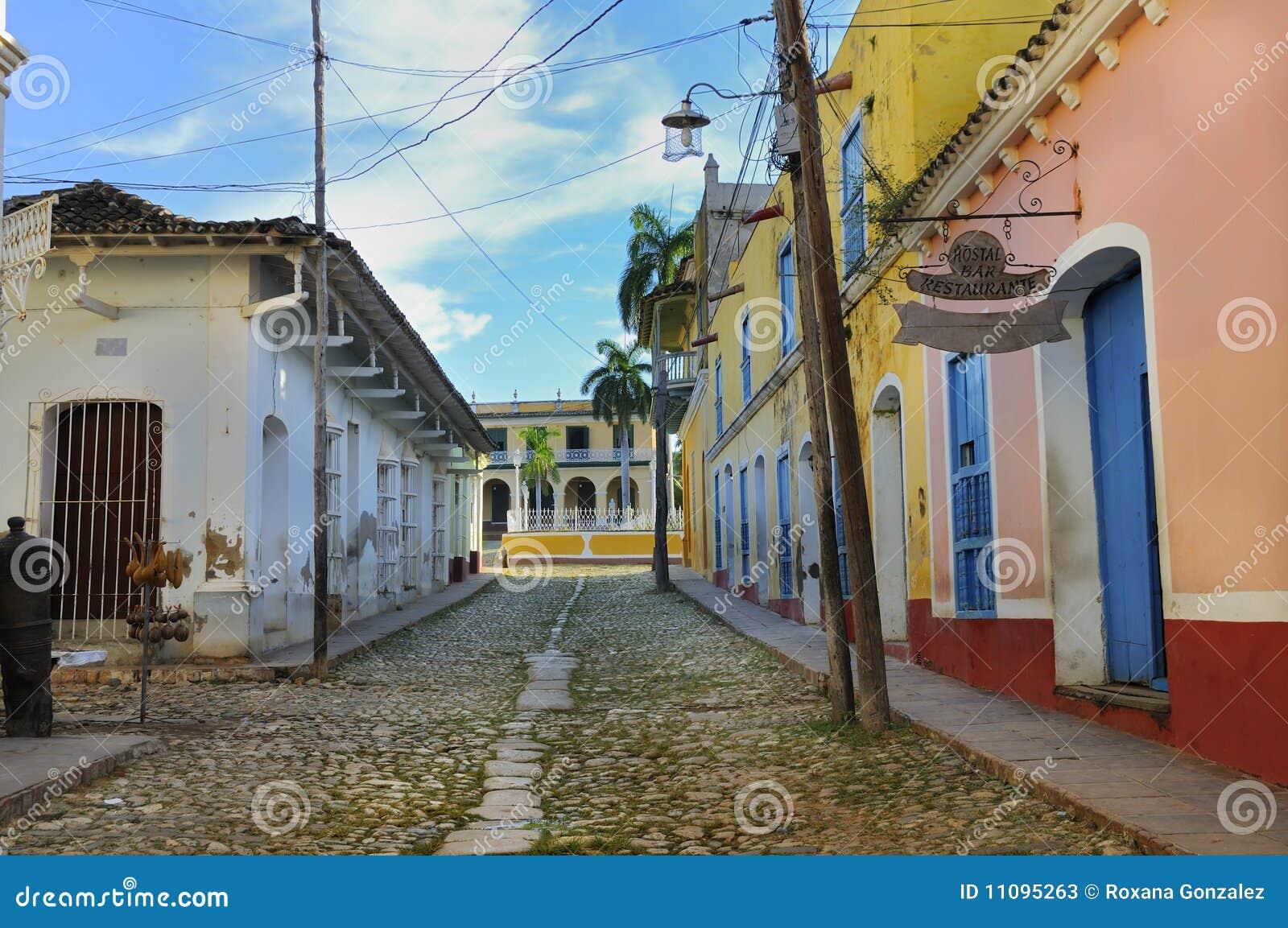 Constructions tropicales au Trinidad, Cuba