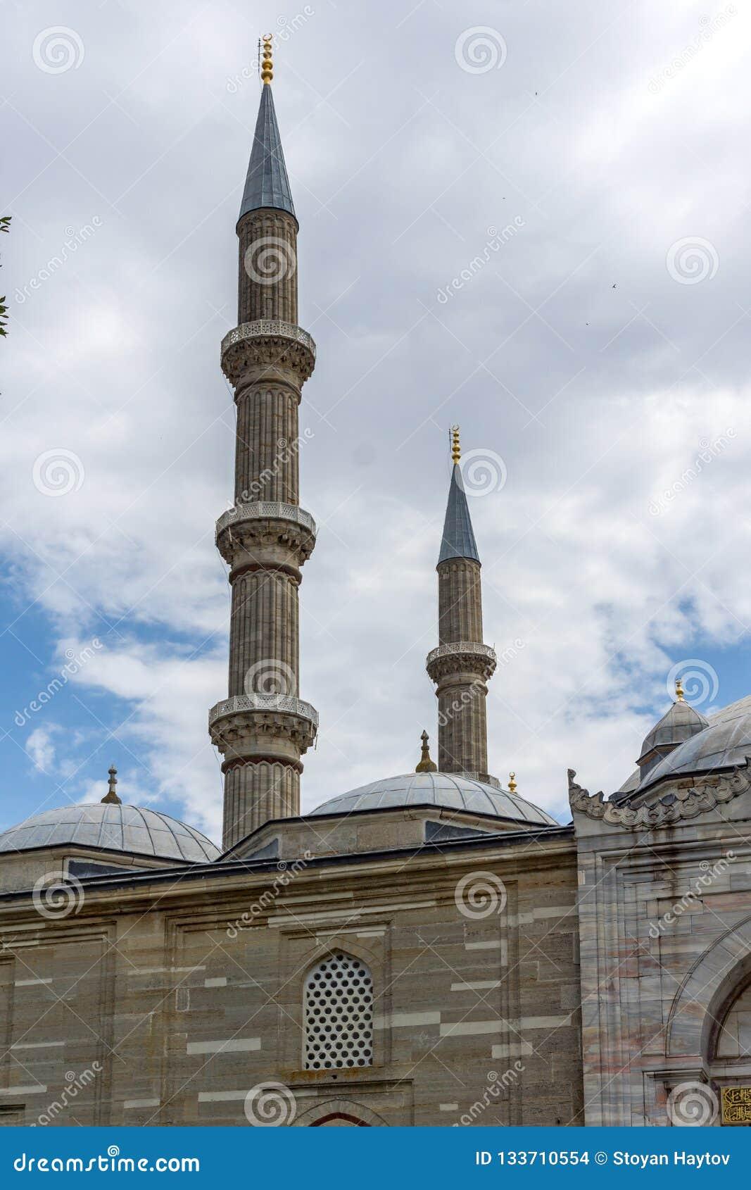 Construido entre la mezquita 1569 y 1575 de Selimiye en la ciudad de Edirne, Tracia del este, Turquía