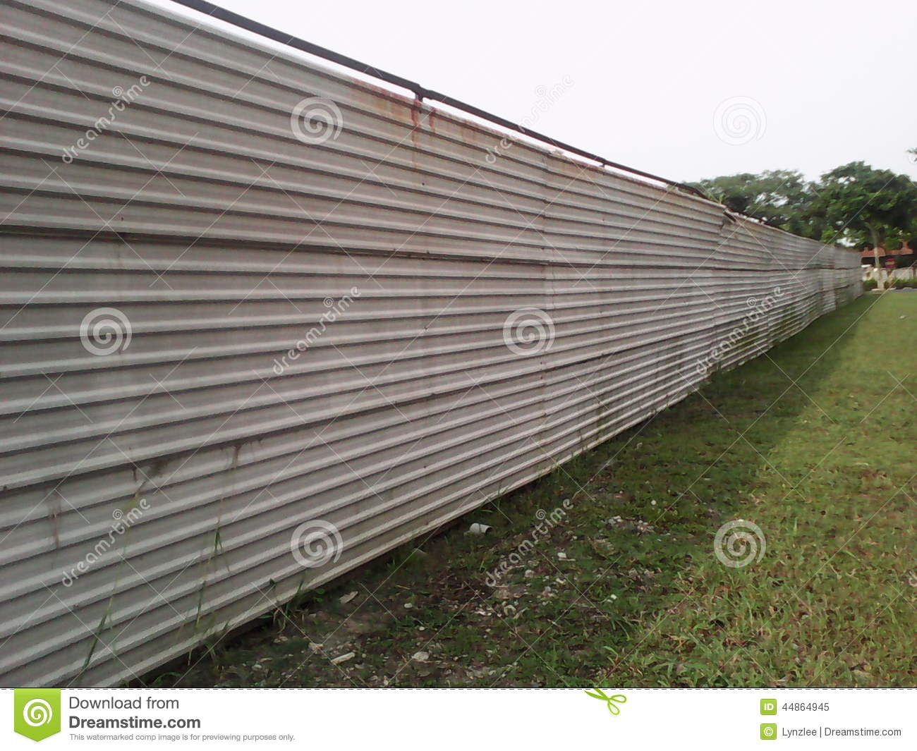 Constuction Site Hoarding Stock Image Image Of Site