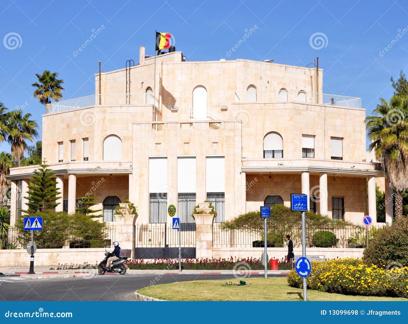 Consulado belga, Jerusalén.