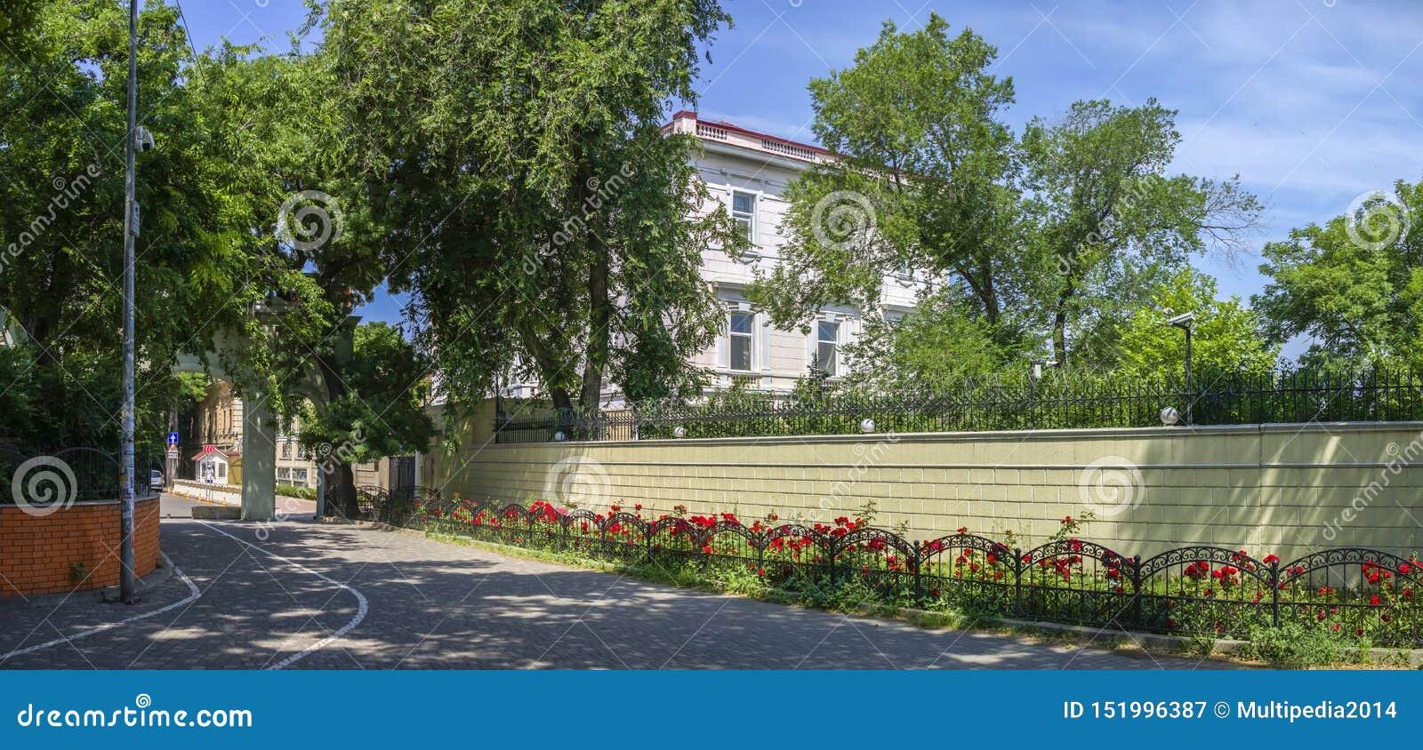 Consulado de China en Odessa, Ucrania