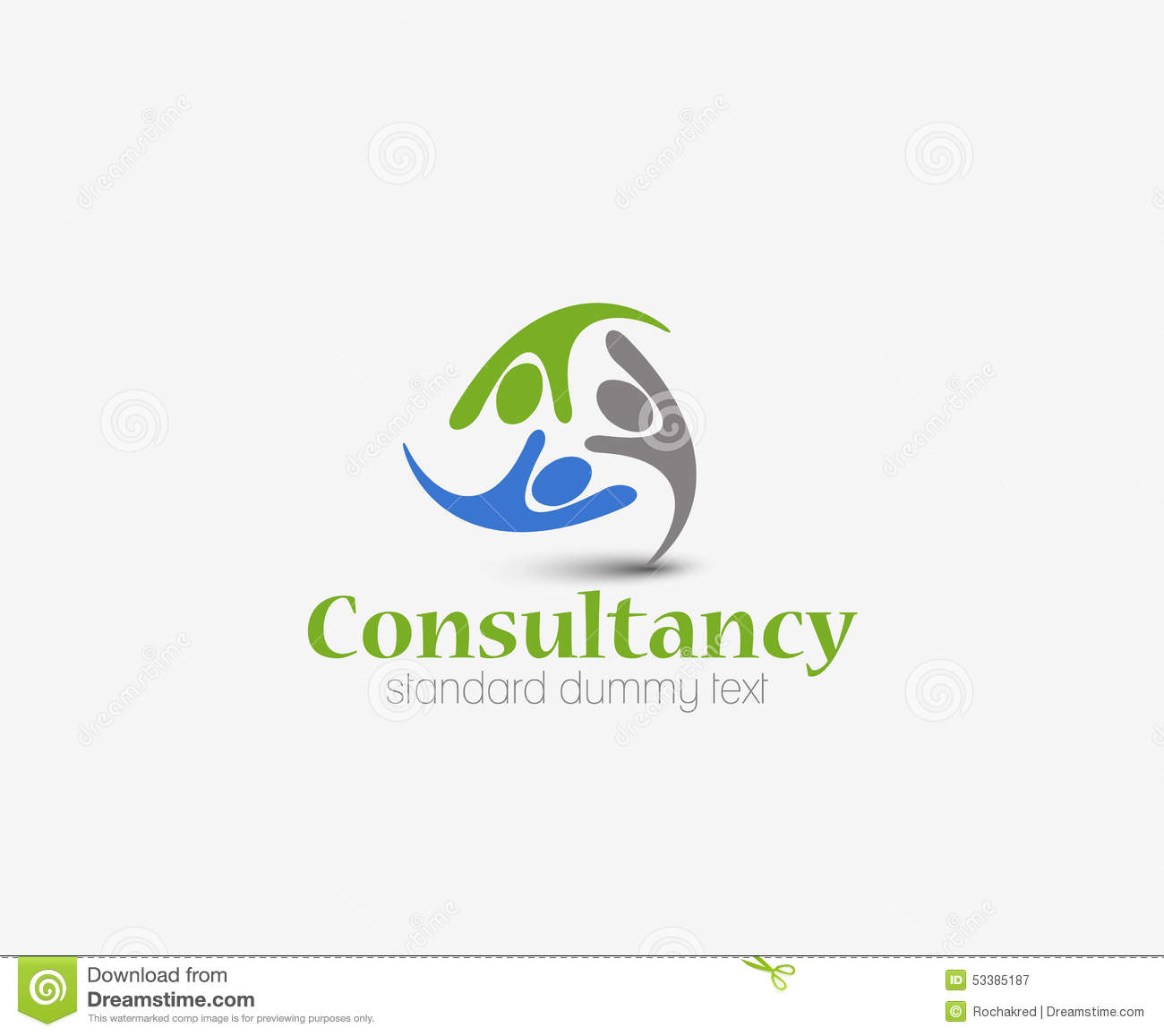 Consultancy logo stock vector illustration of consulting for Design consultancy