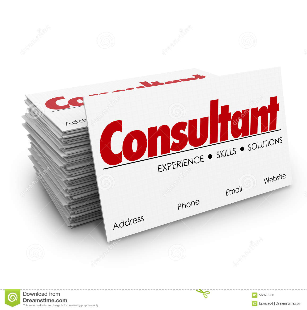 Consultant business cards expertise knowledge skills for What is a design consultant