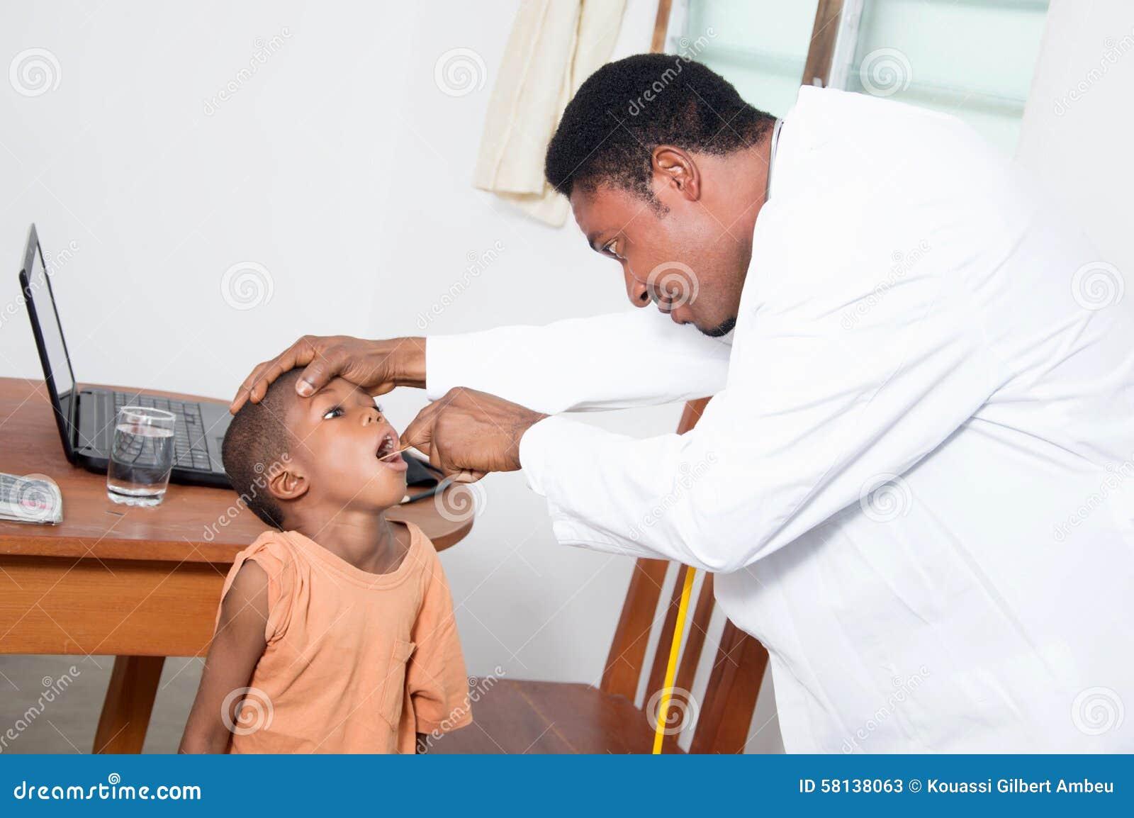Consultation de bouche