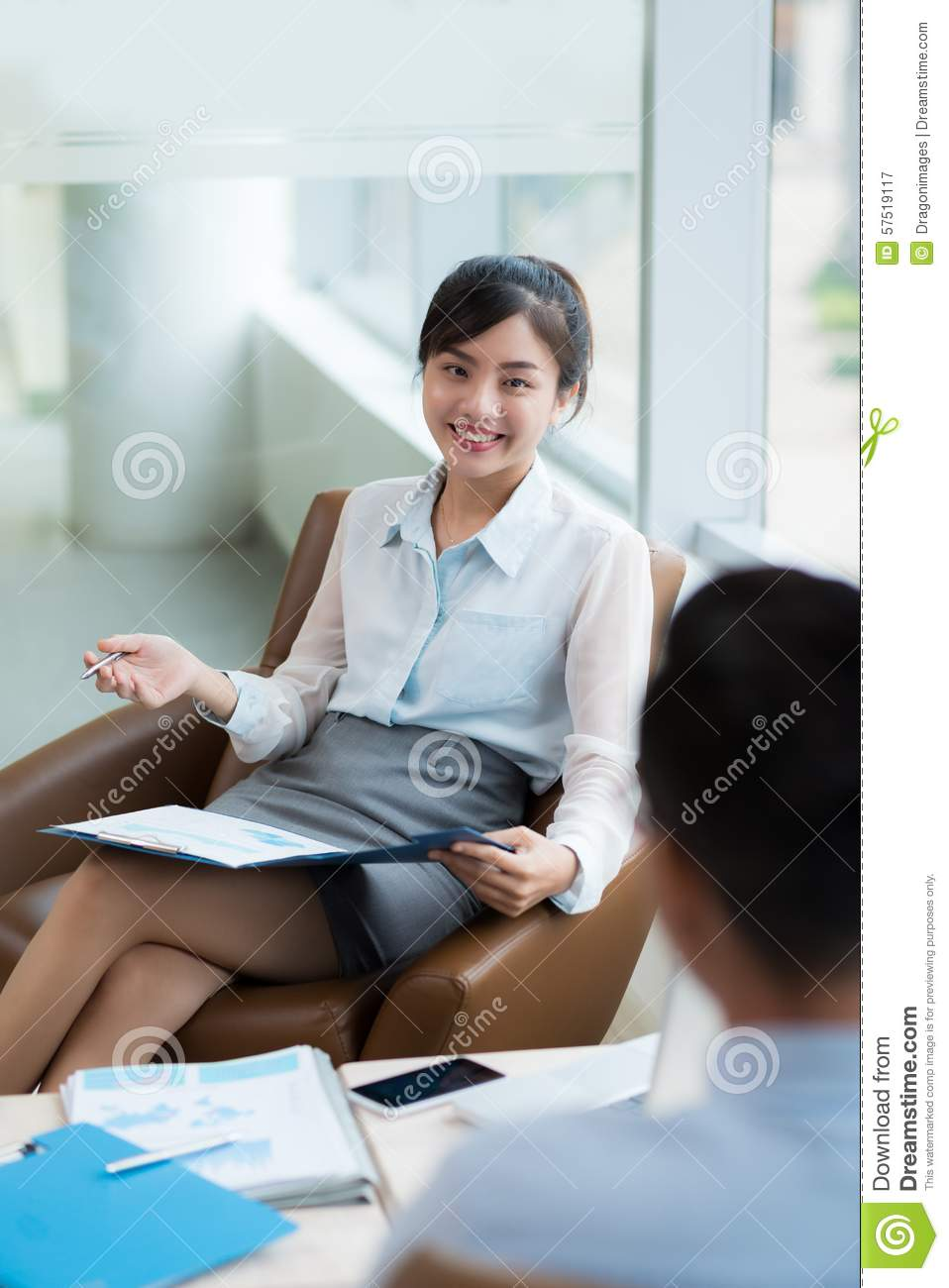 Consulting Client Stock Photo Image 57519117