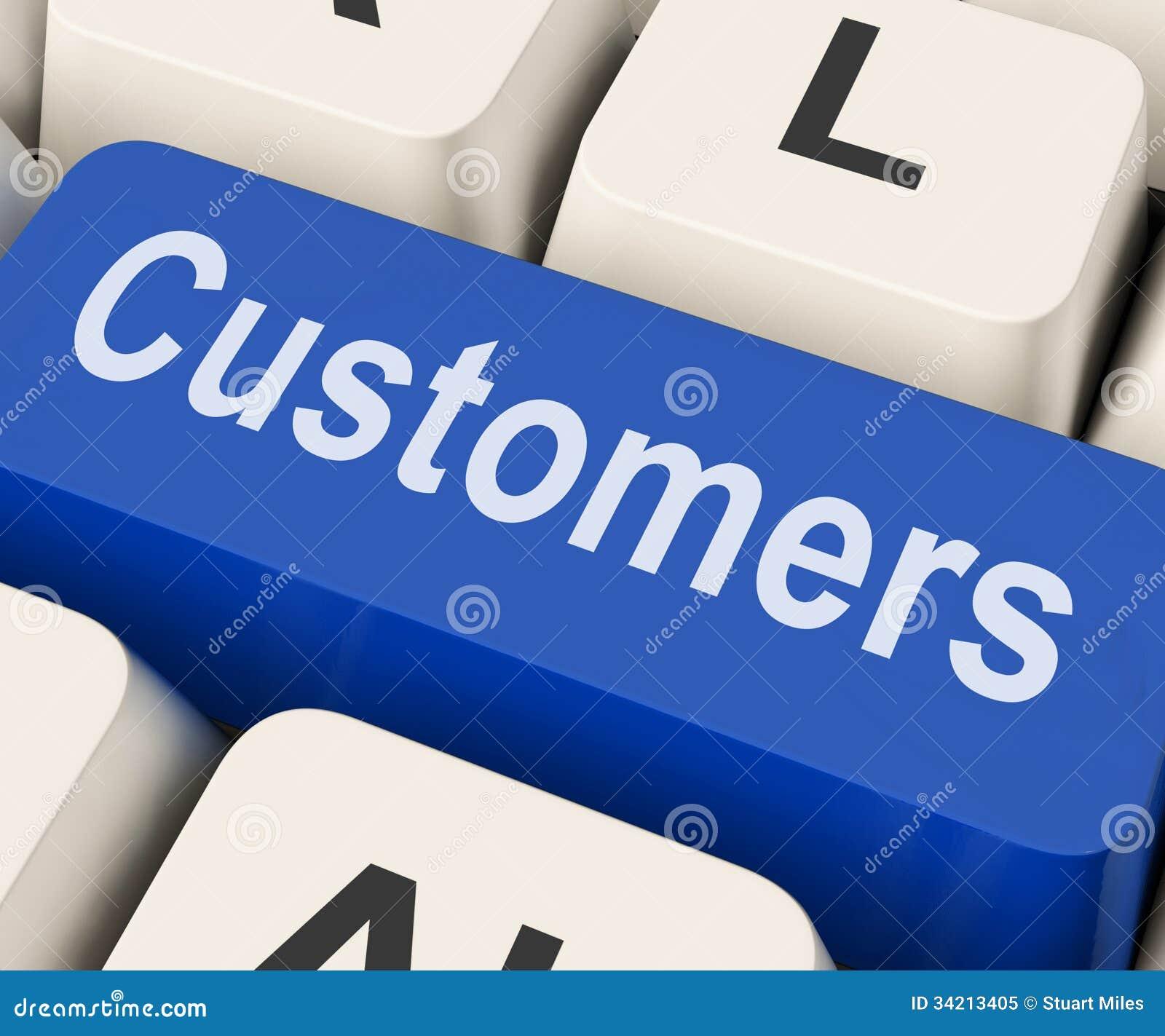 Consument of Koper van klanten de de Zeer belangrijke Middelen