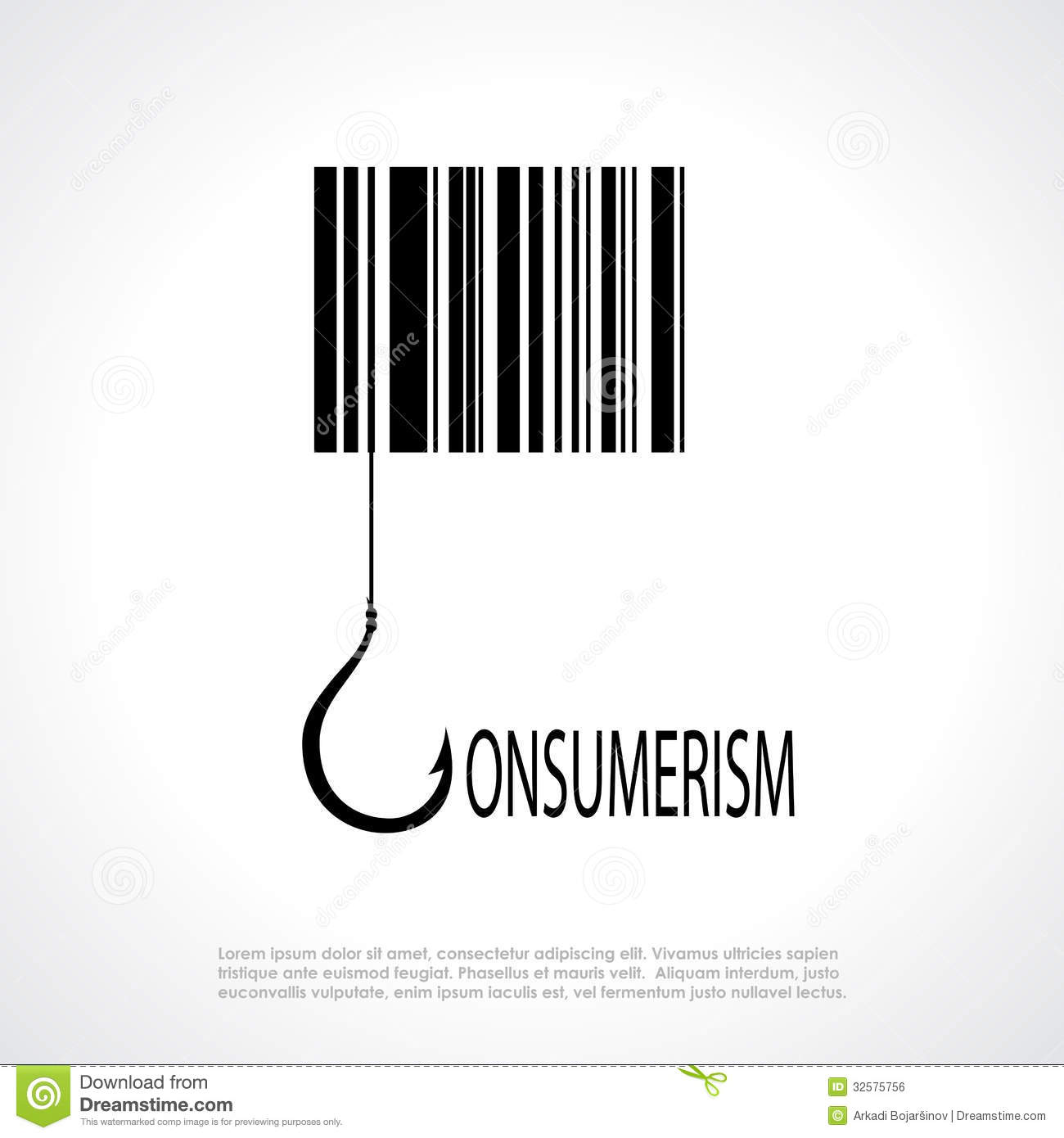 Consumerism Poster Royalty Free Stock Image Image 32575756