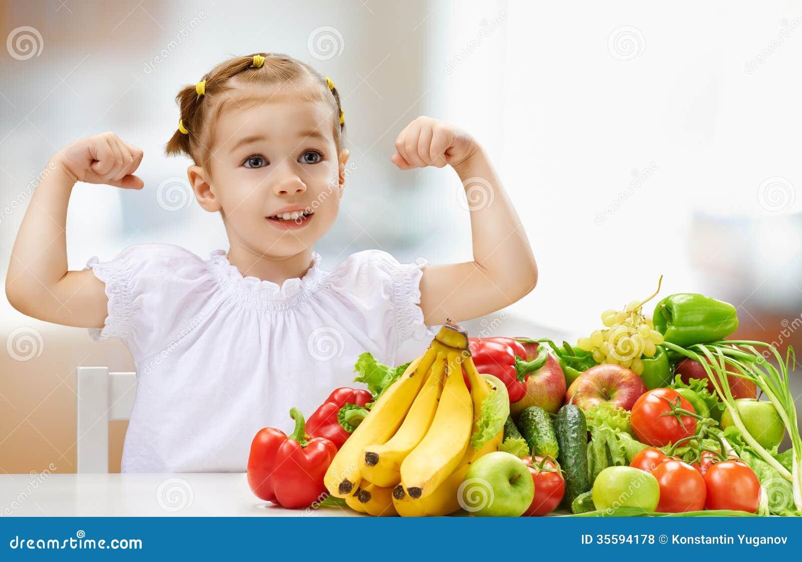 Consumición de la fruta fresca