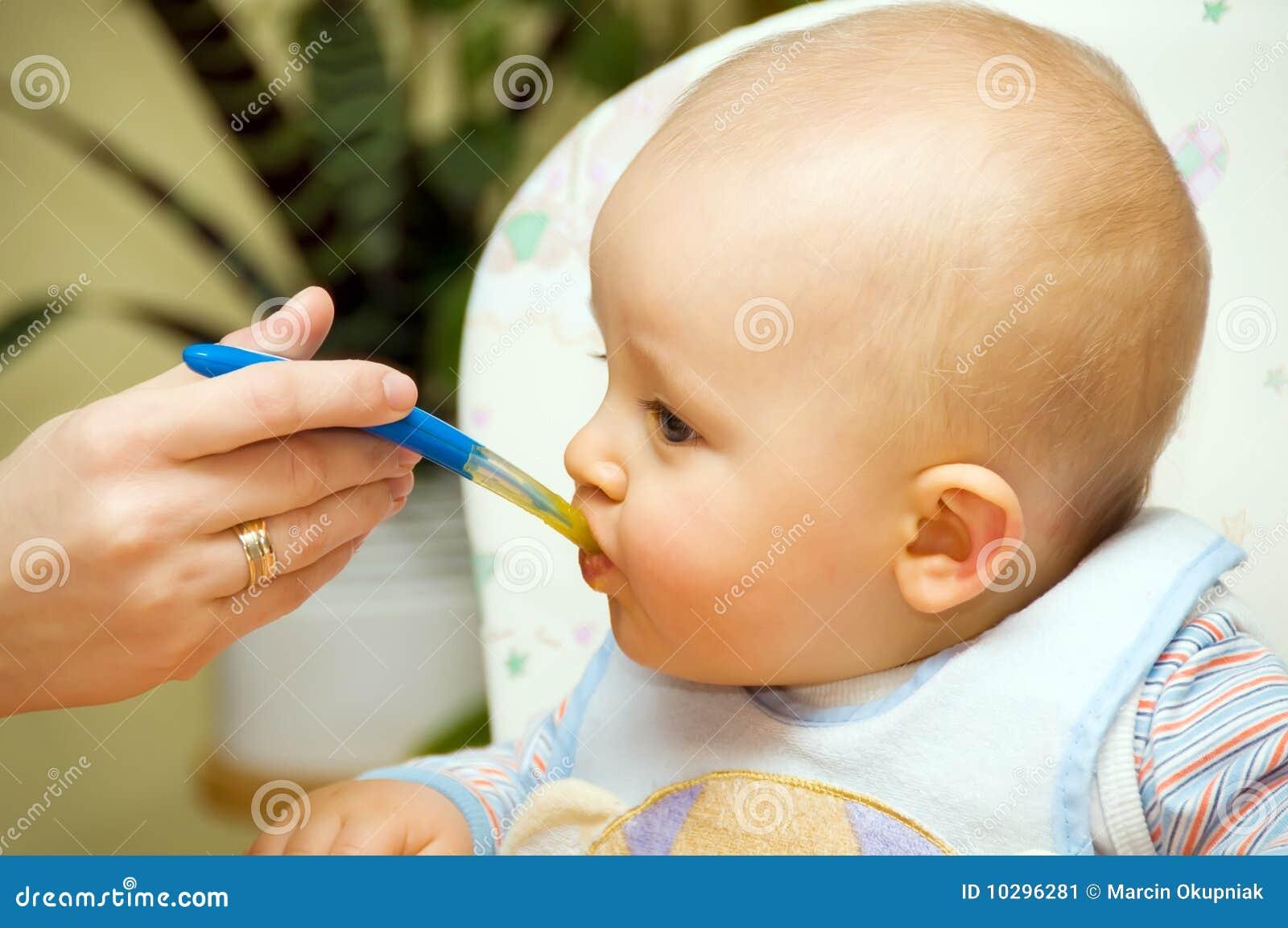 Consumición del bebé