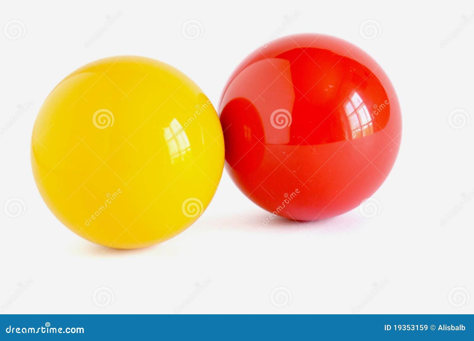 Conta amarela e vermelha da sugestão