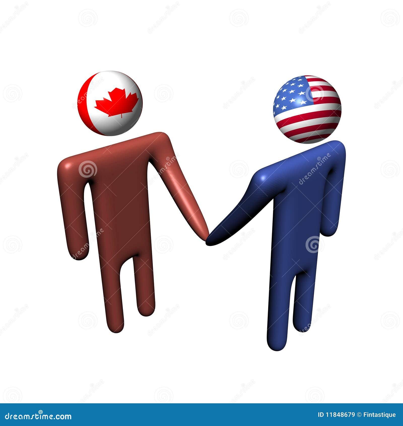 Contact américain canadien