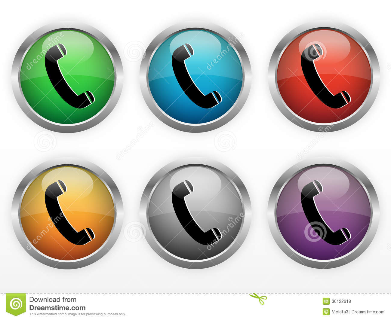 Contact Buttons For Pictures 31