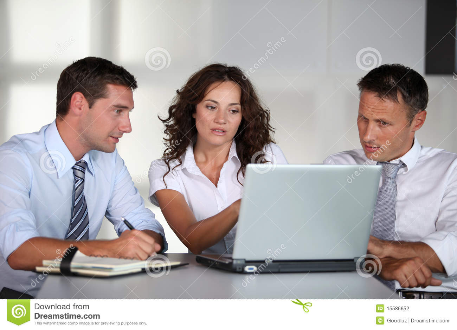 Contact de travail