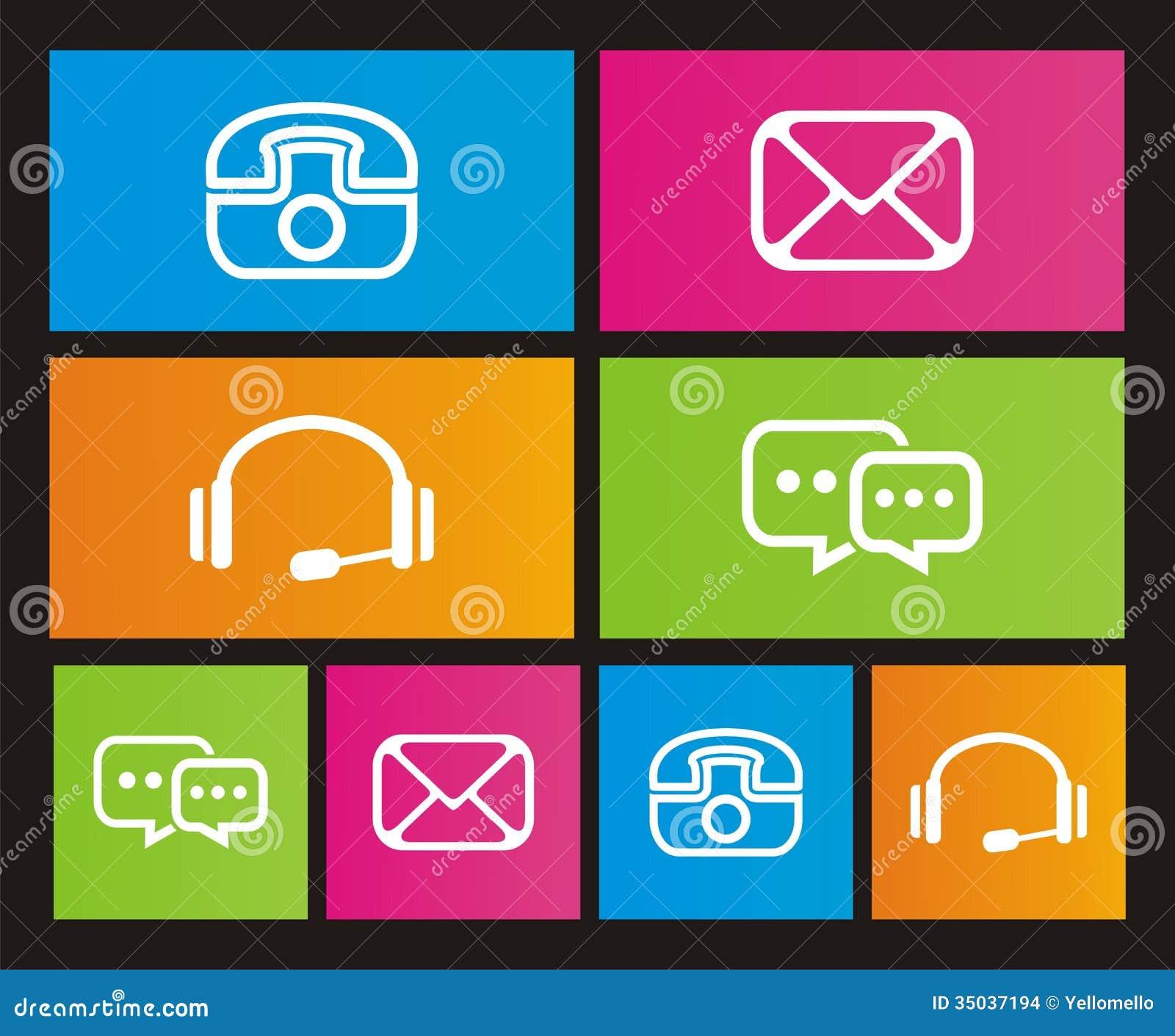 Contact icon - metro style