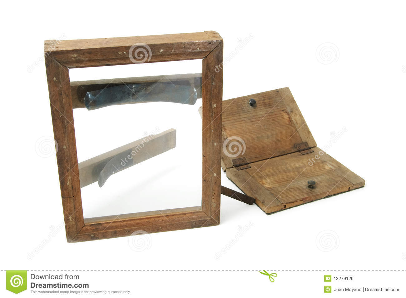 Contact print frame stock photo. Image of process, business - 13279120