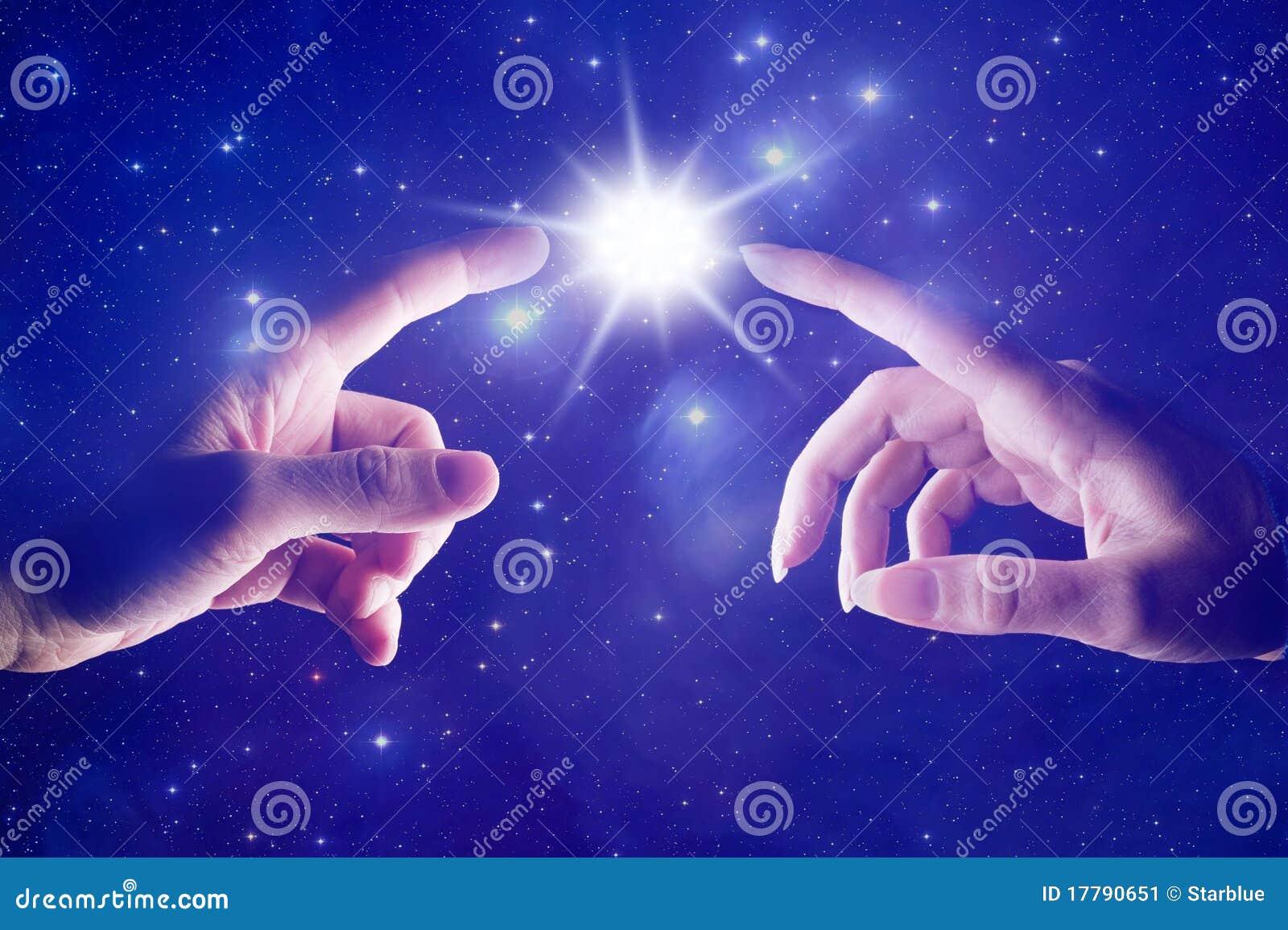 Contact spirituel cosmique