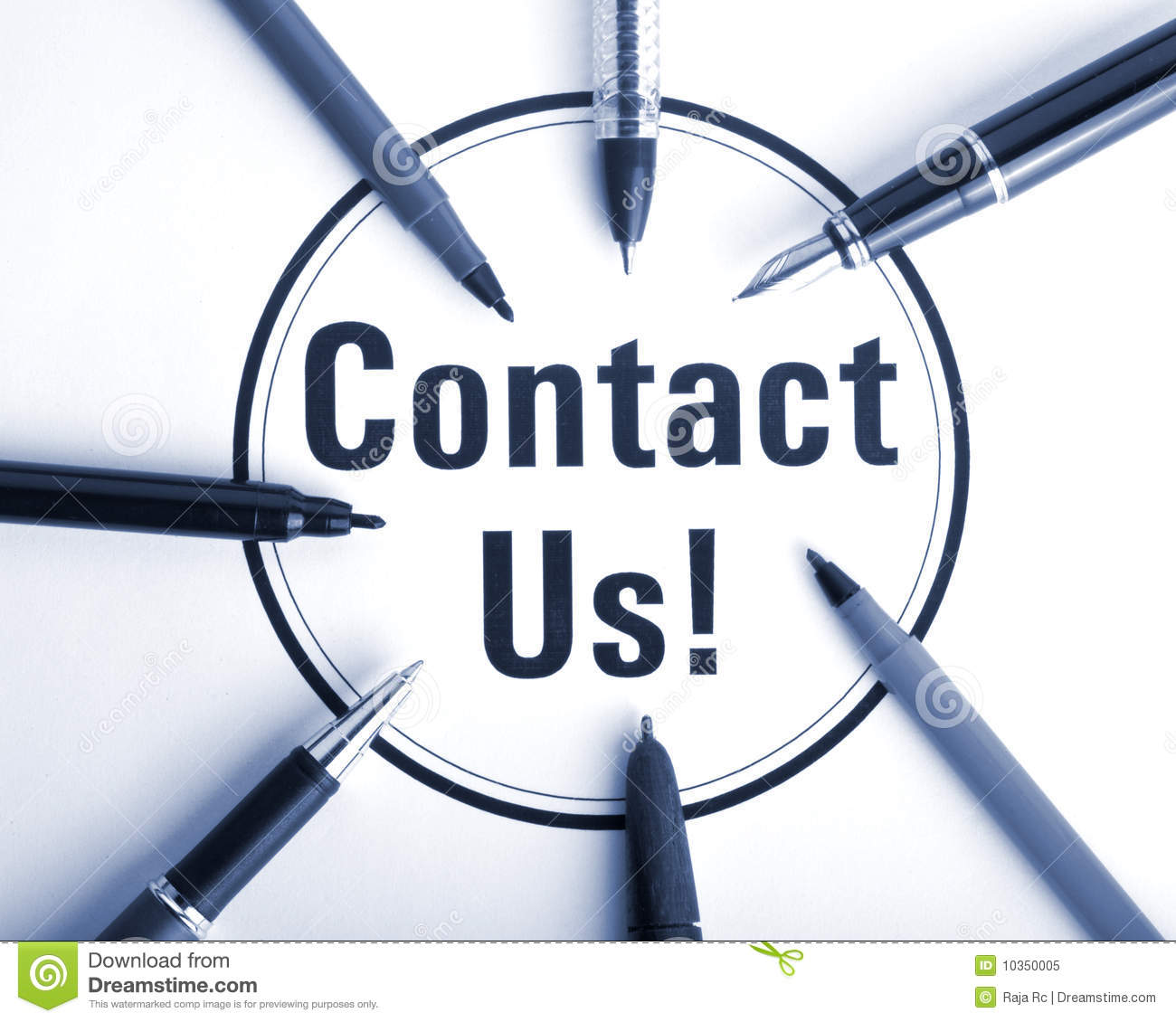 Contact Us: Contact Us Royalty Free Stock Photo