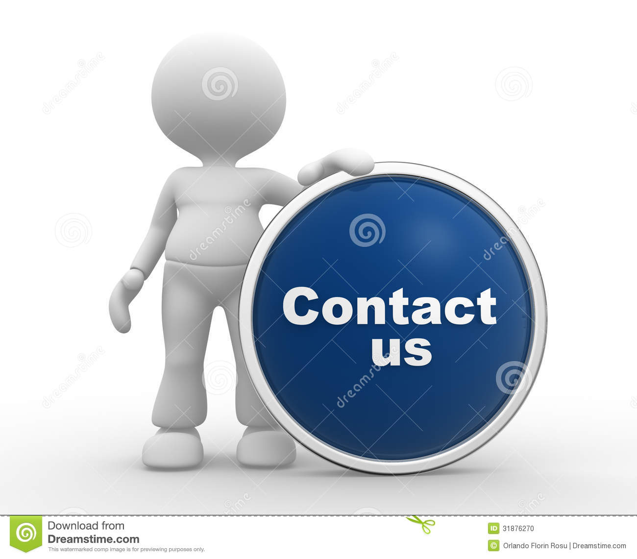 Contact Us: Contact Us Stock Illustration. Illustration Of Emergency