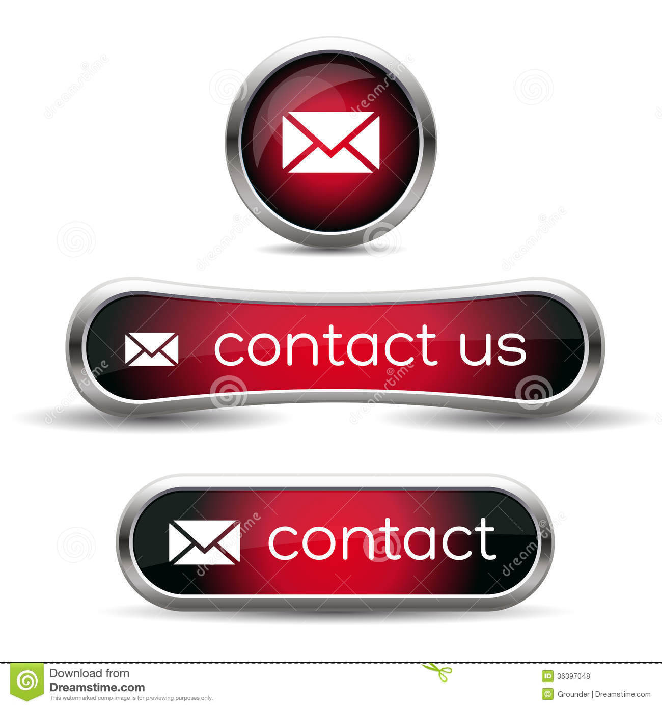 Contact Us Red >> Contact us icon stock vector. Illustration of email