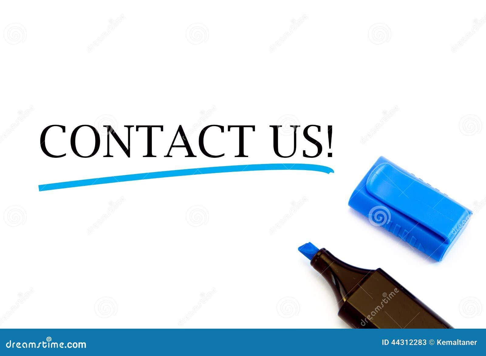 Contact Us Stock Image Image Of Background Internet