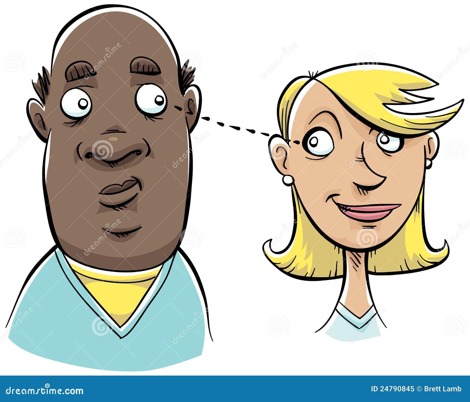 Regarder du porno de contact visuel