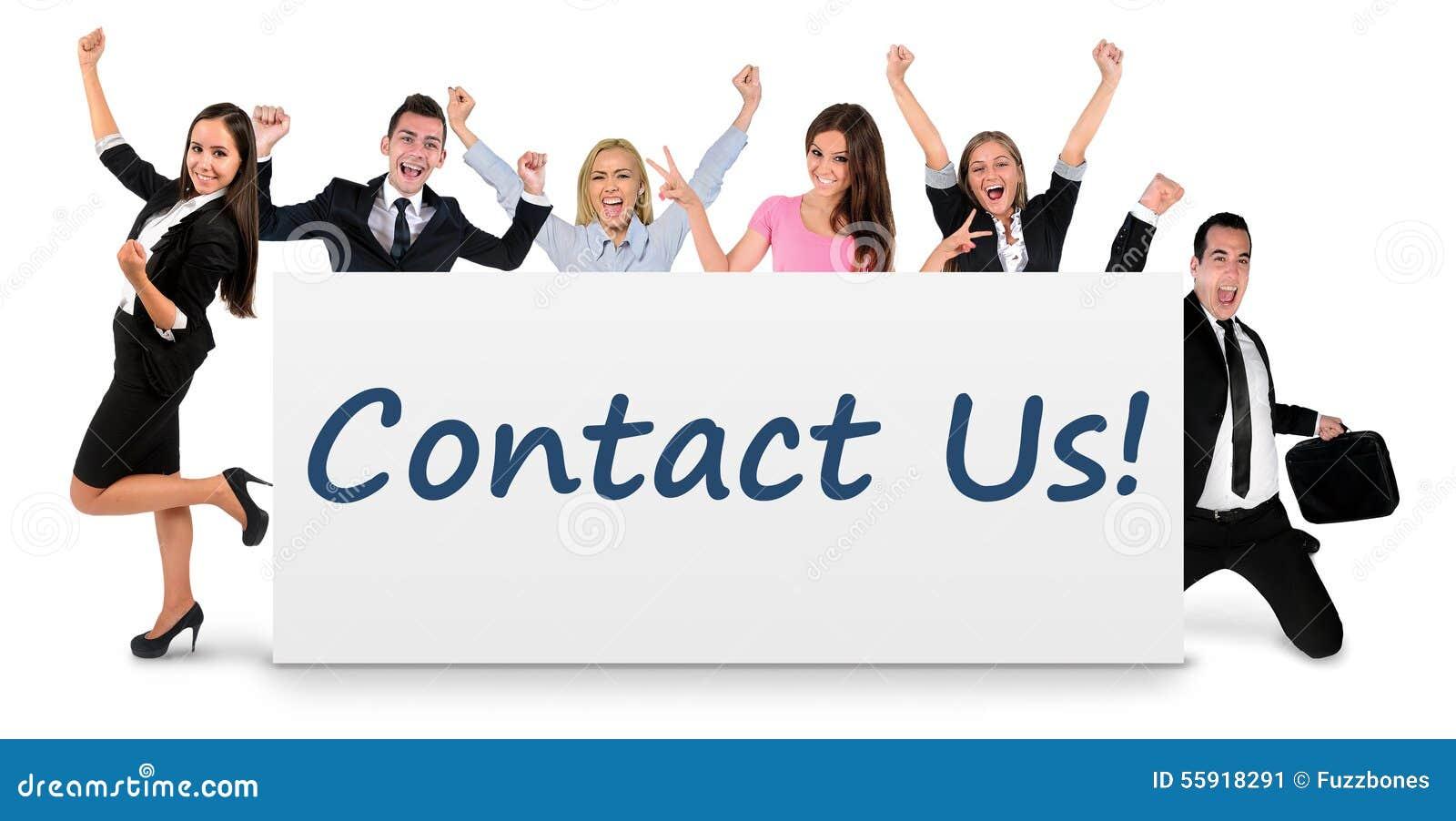 Contacteer ons op banner