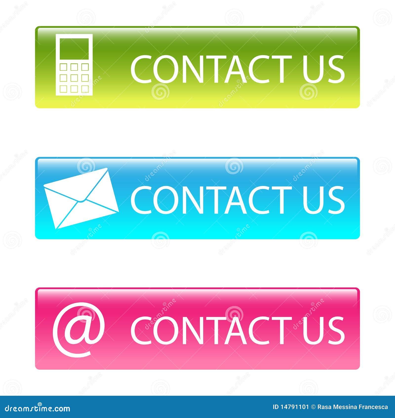 Contactez-nous des boutons