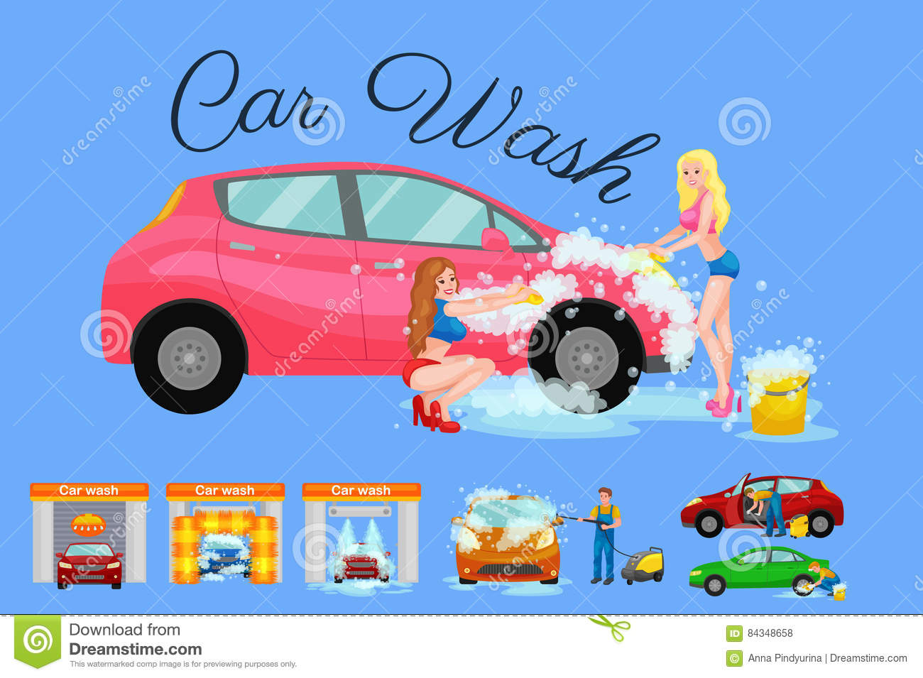 vehicle washing overhead structure at carwash royalty free stock photo 74479041. Black Bedroom Furniture Sets. Home Design Ideas