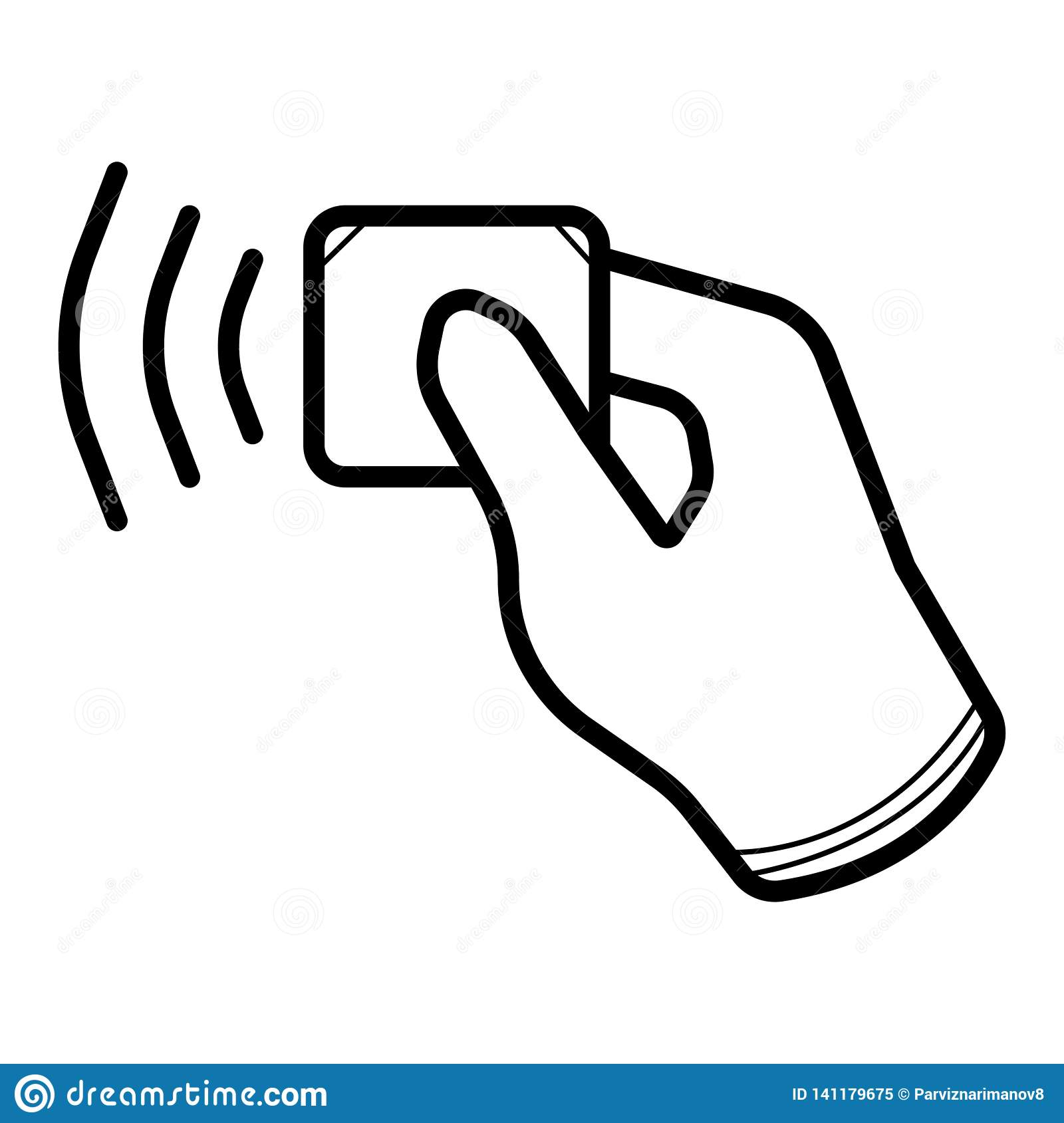 Contactless wireless pay