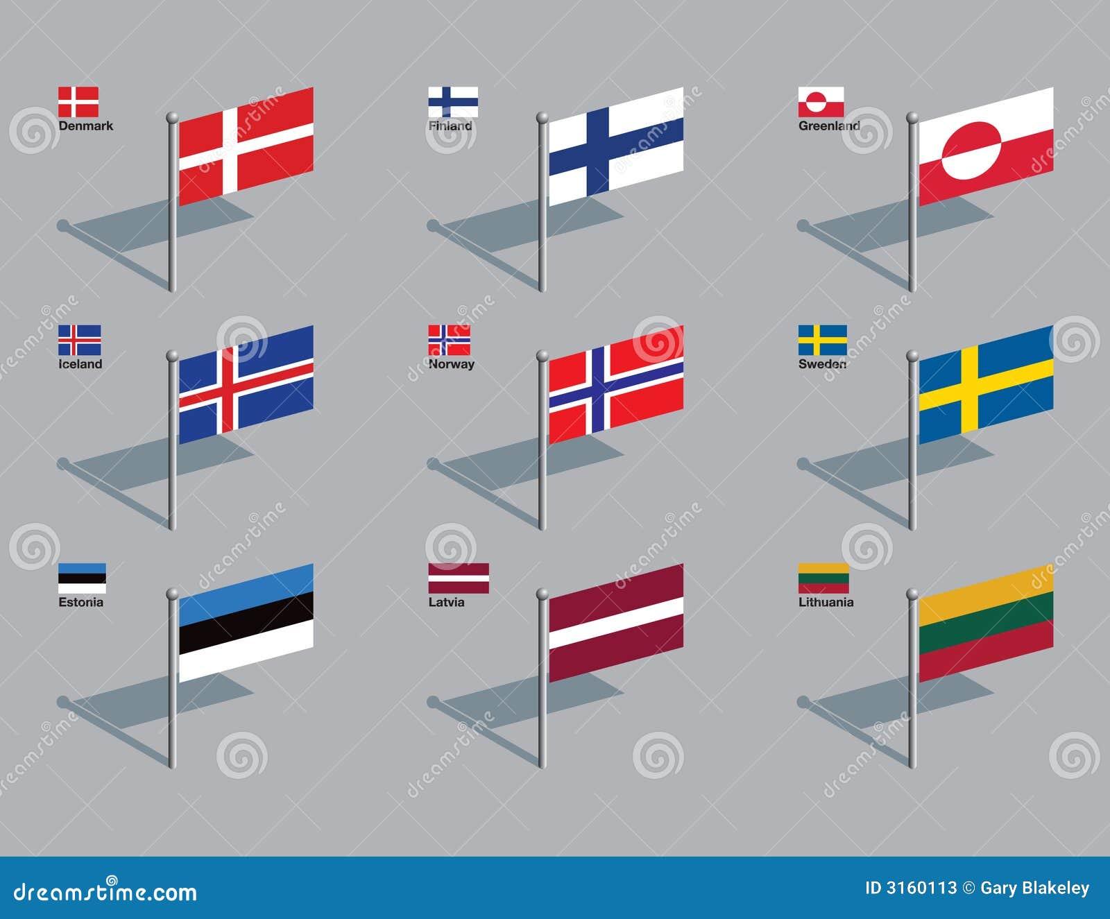 Contactos del indicador - Nordic, báltico