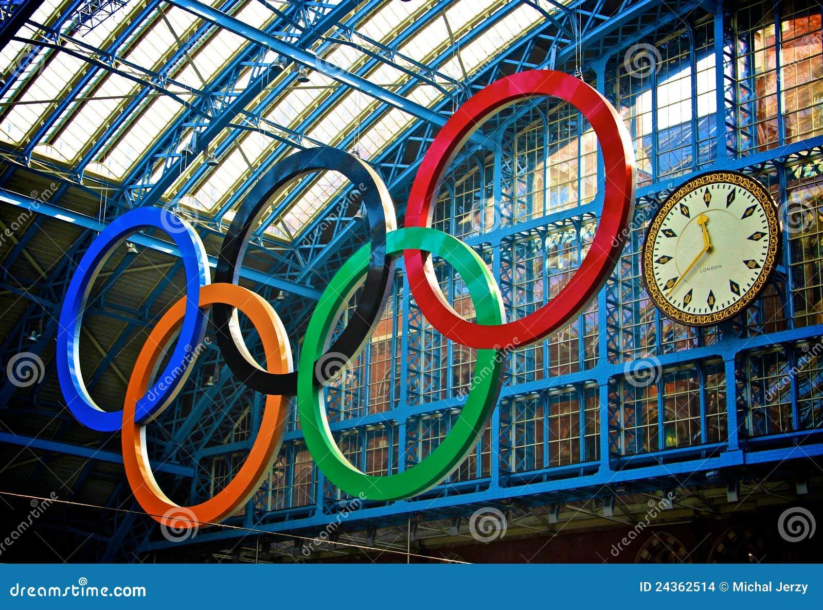 Contagem regressiva 2012 dos Olympics de Londres
