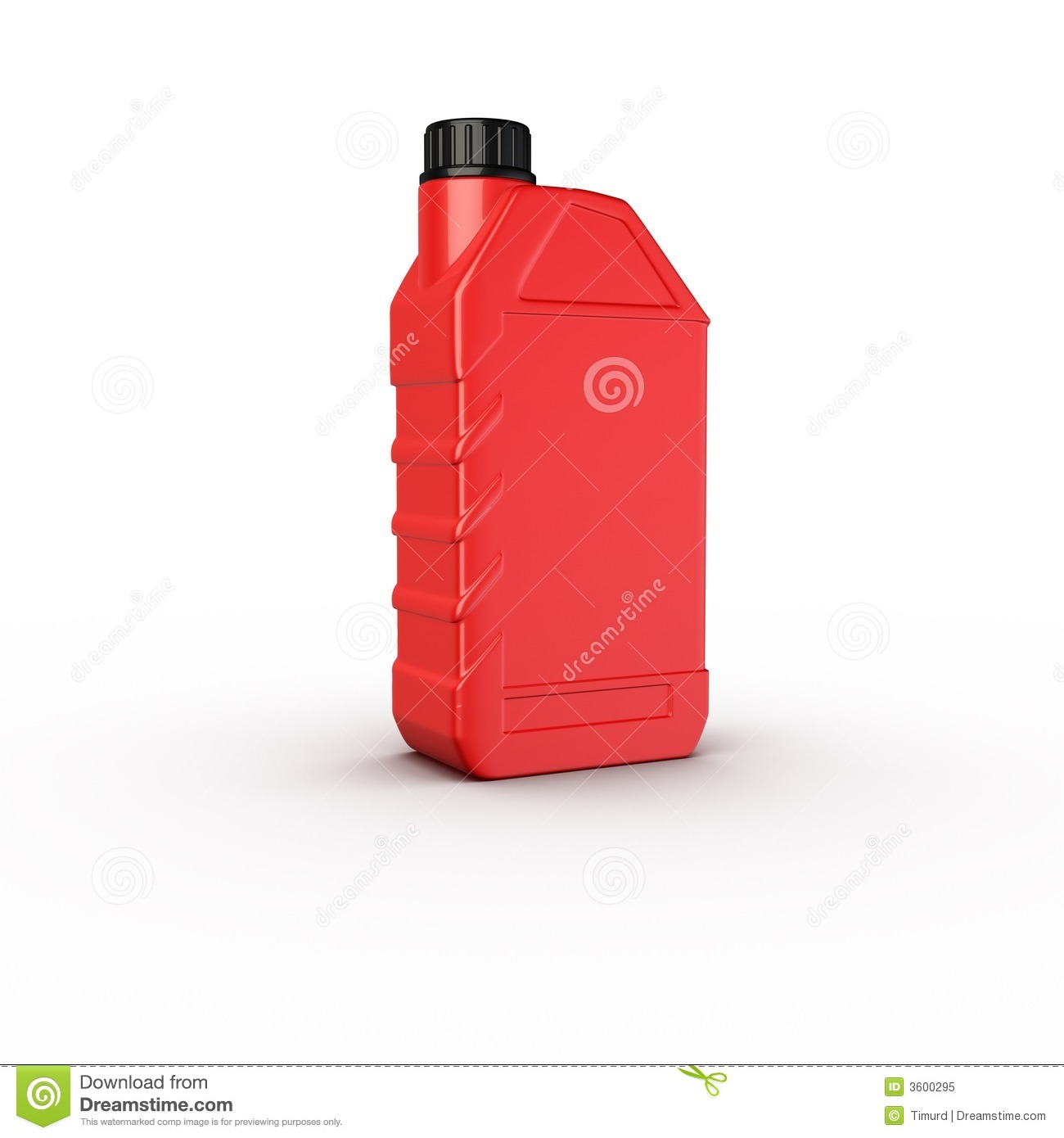 Container Motor Oil Bottle Royalty Free Stock Photo