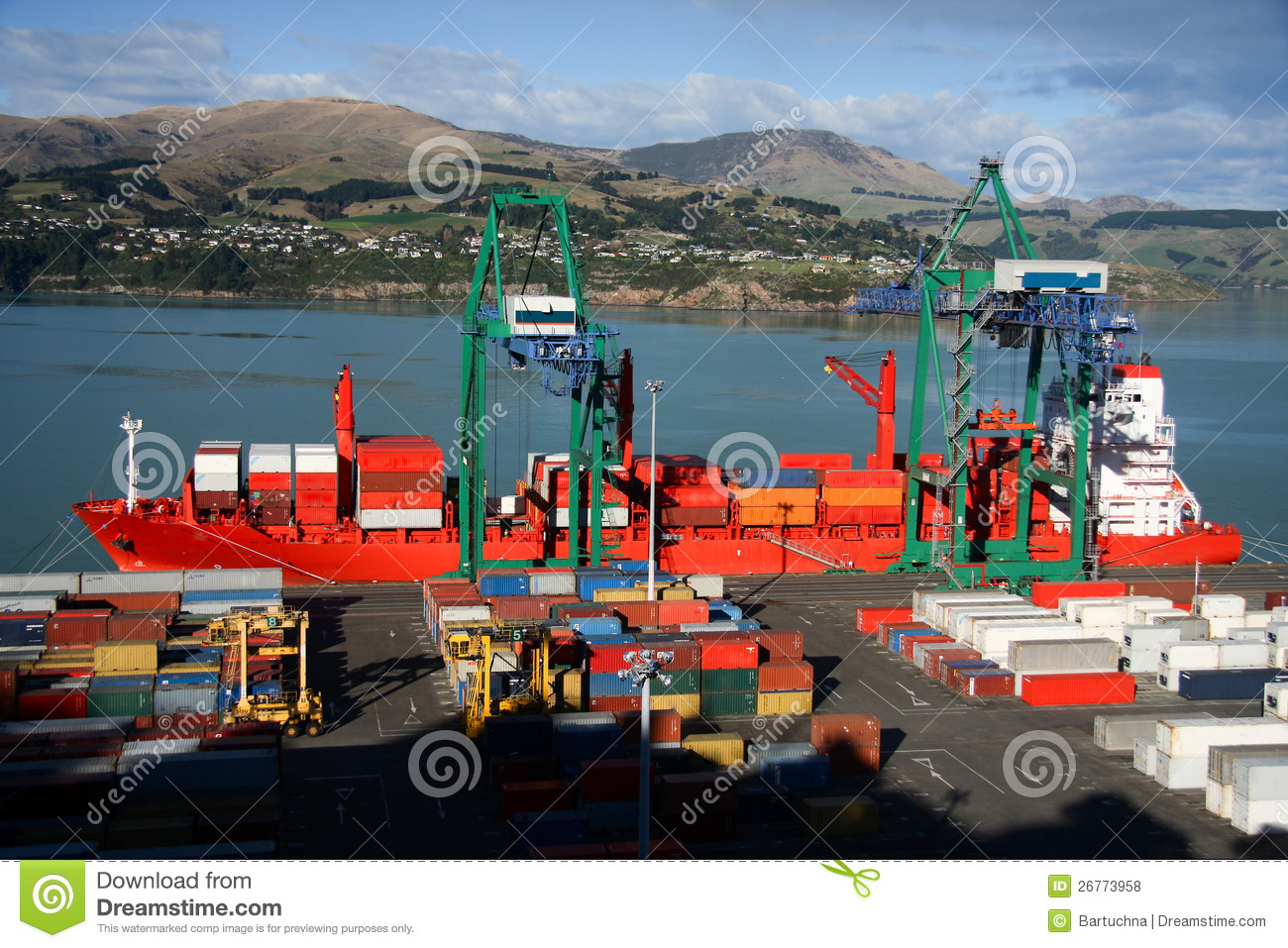 Cargo Ship Travel New Zealand From United States