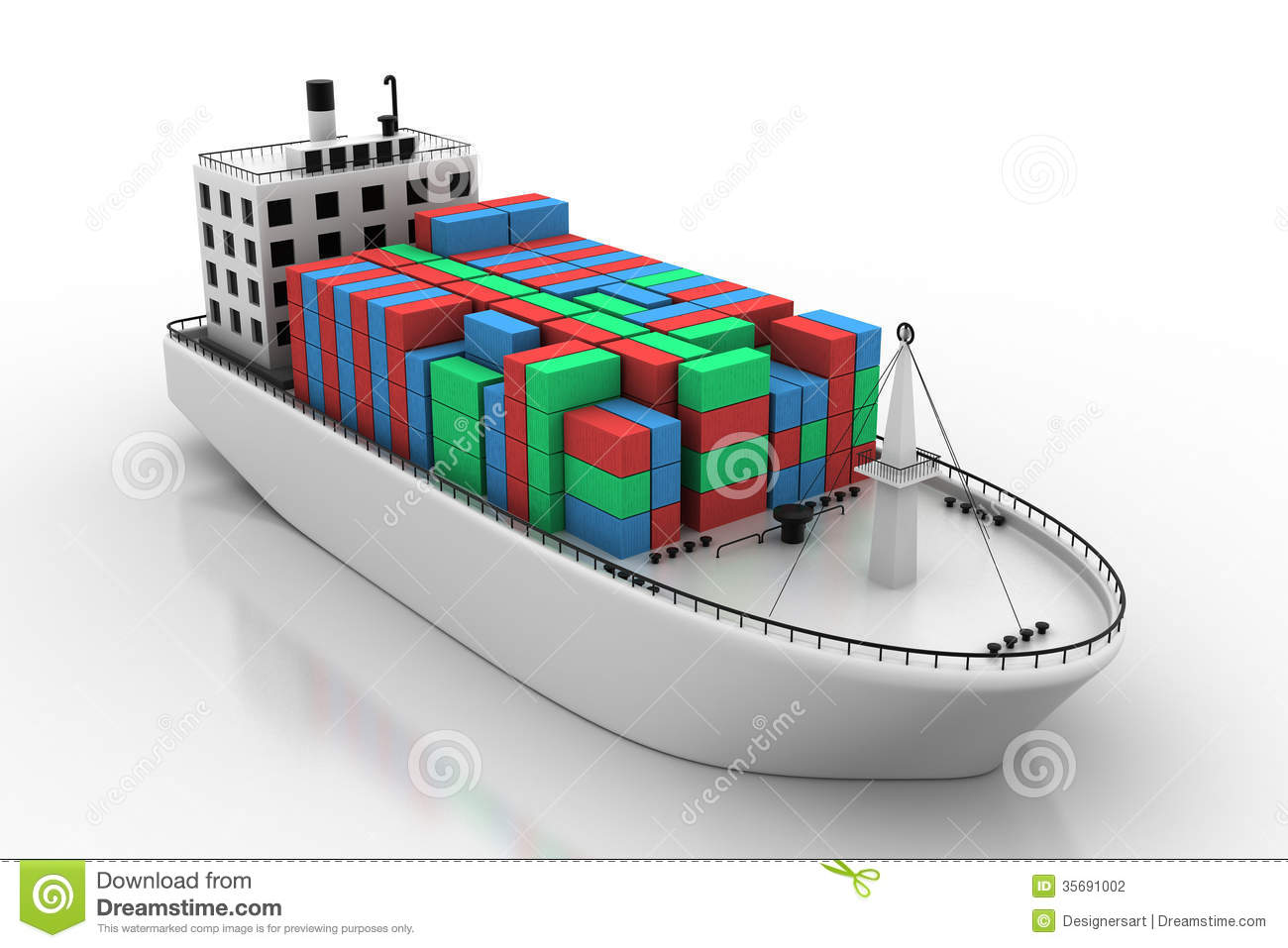 clipart container ship - photo #19