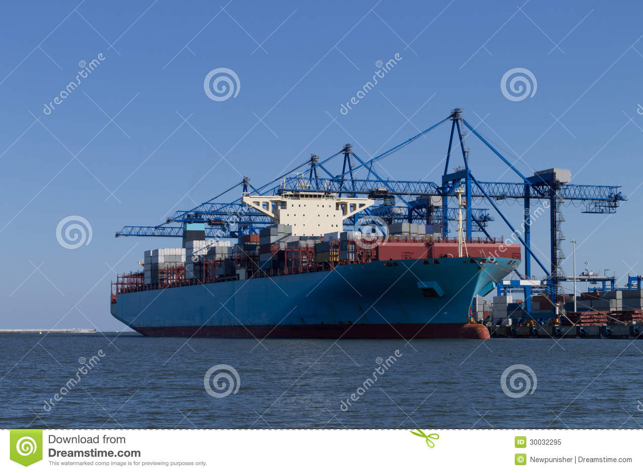 The container ship